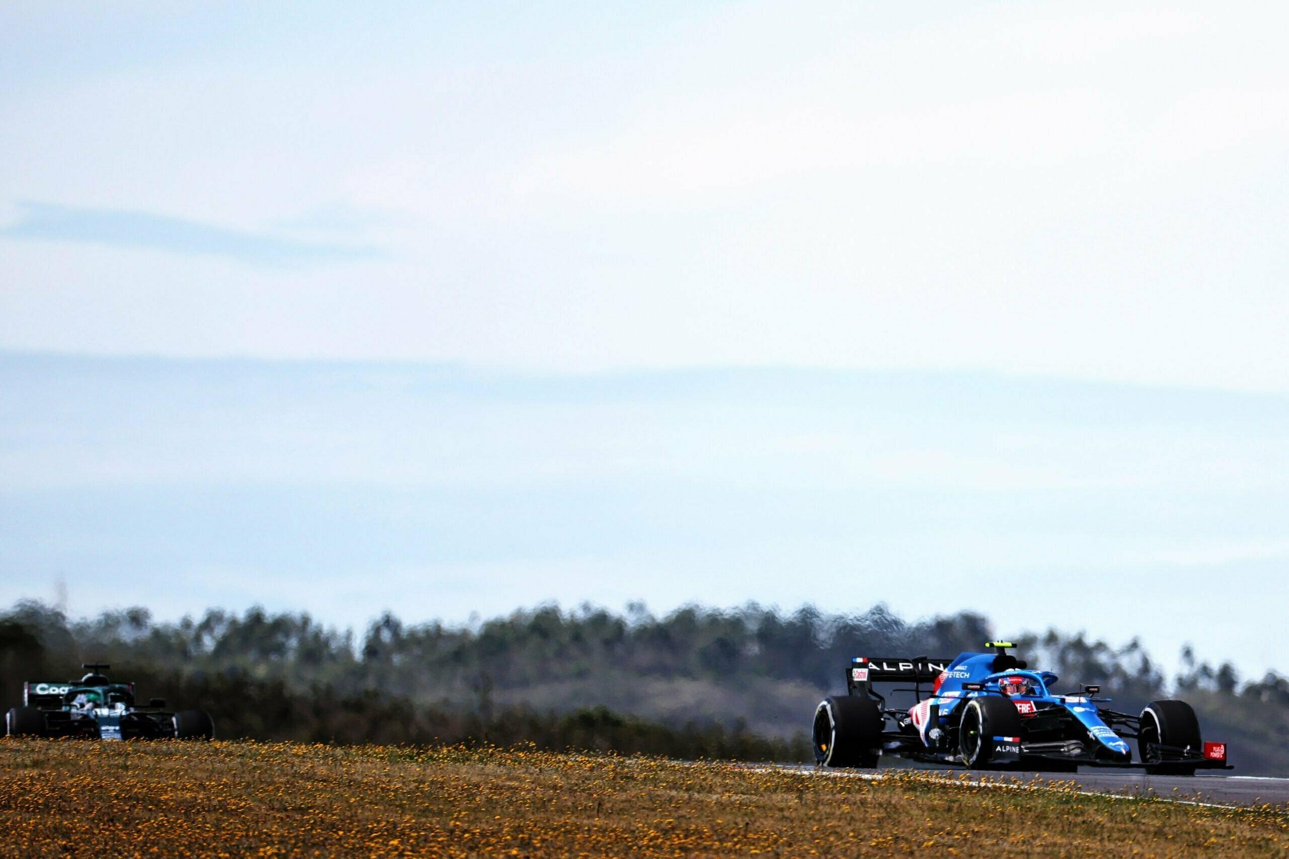 Alpine F1 Team GRAND PRIX HEINEKEN DU PORTUGAL Alonso Ocon 2021 A521 16 scaled   Alpine F1 Team : des essais convaincants au Grand Prix Heineken du Portugal