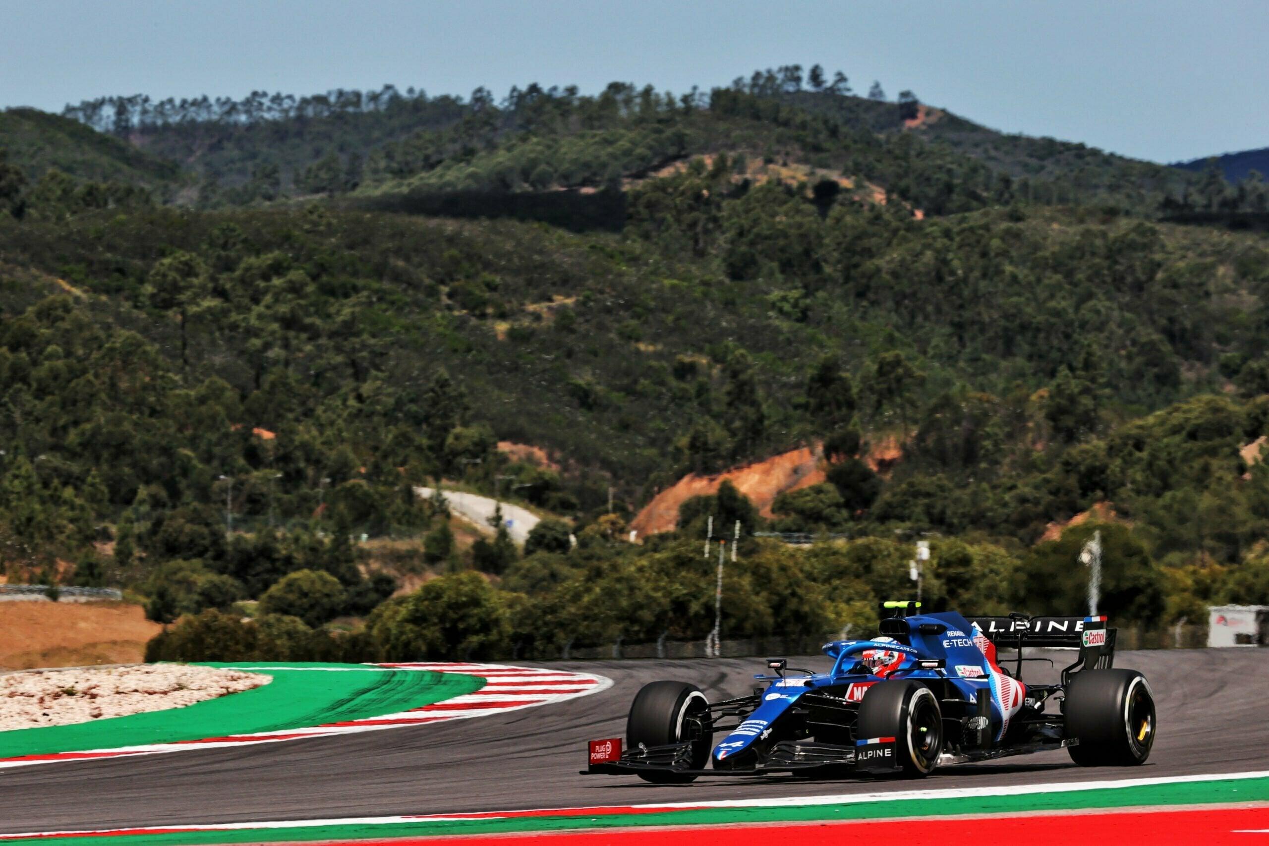 Alpine F1 Team GRAND PRIX HEINEKEN DU PORTUGAL Alonso Ocon 2021 A521 23 scaled   Alpine F1 Team : des essais convaincants au Grand Prix Heineken du Portugal