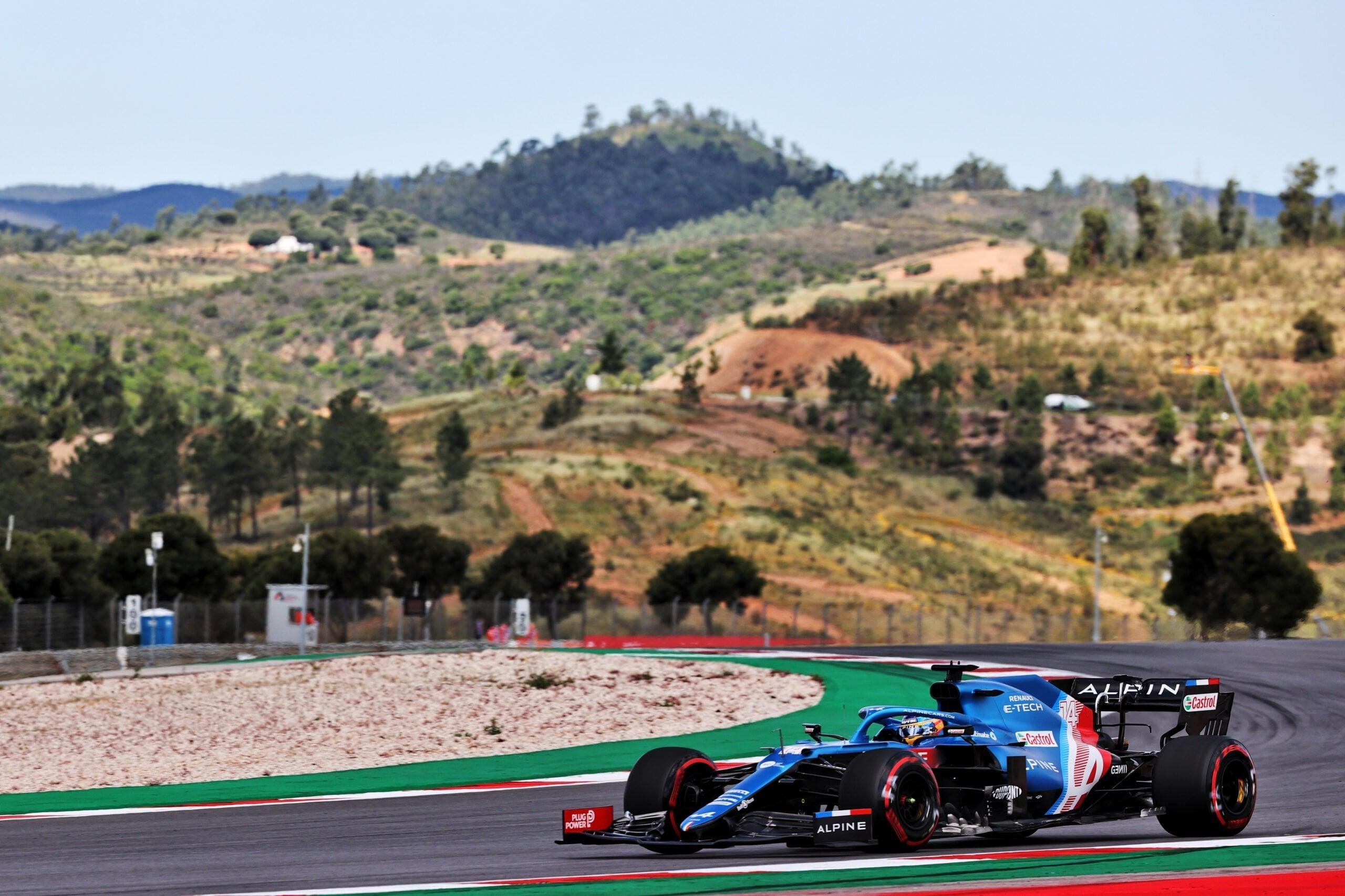 Alpine F1 Team GRAND PRIX HEINEKEN DU PORTUGAL Alonso Ocon 2021 A521 27 scaled   Alpine F1 Team : des essais convaincants au Grand Prix Heineken du Portugal