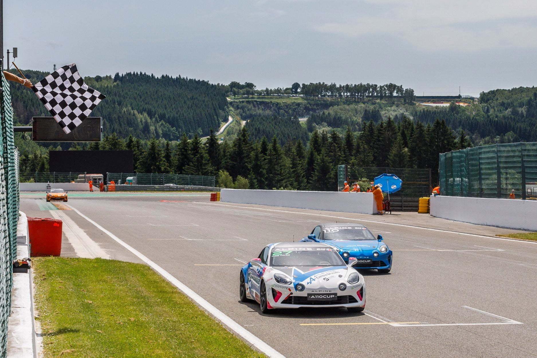 Alpine Elf Europa Cup Spa Francorchamps 2021 9 | Alpine Elf Europa Cup 2021 : Laurent Hurgon et Dani clos victorieux à Spa-Francorchamps