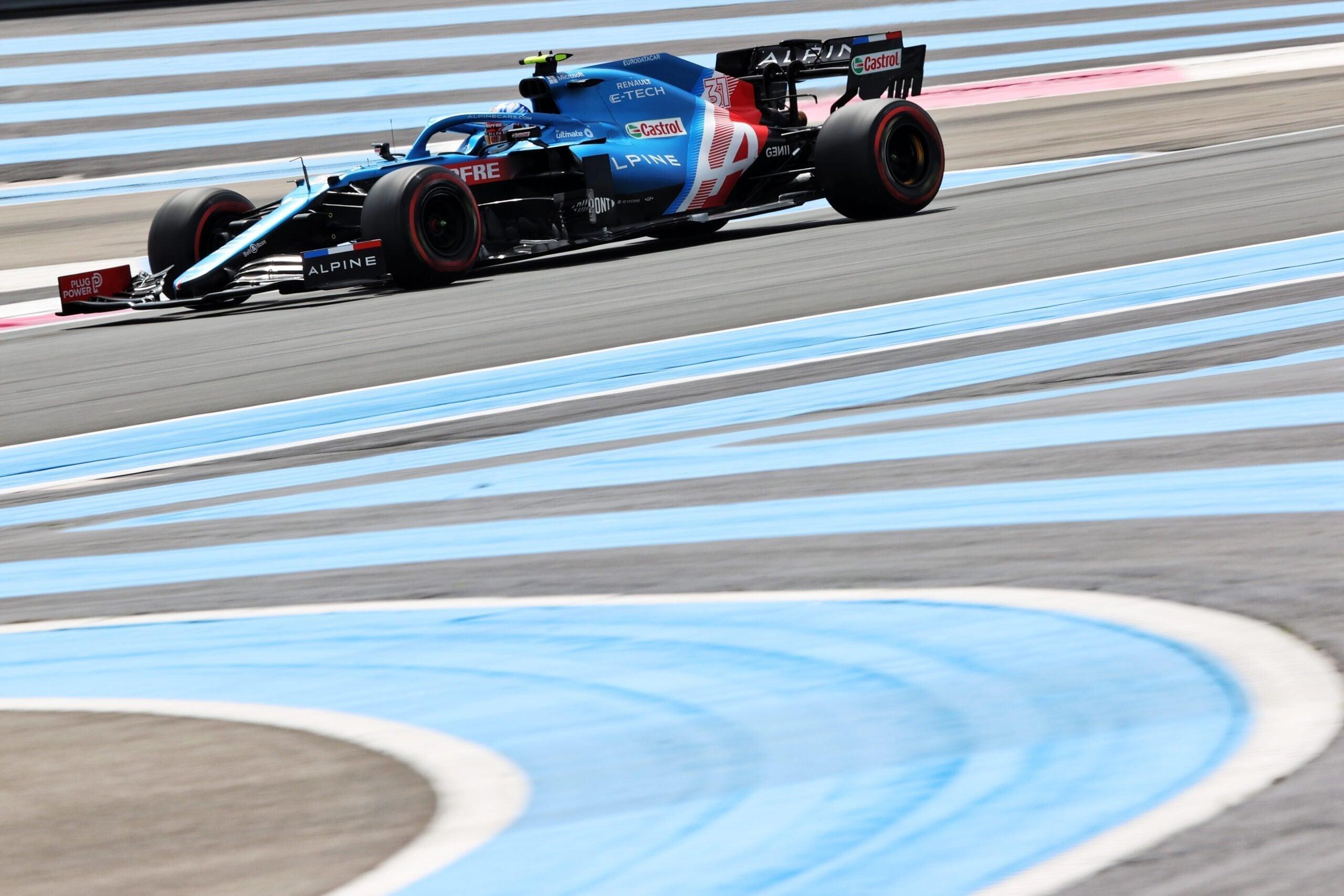 Alpine F1 Alonso Ocon A521 Castellet Paul Ricard 2021 10 scaled | Alpine F1 : des essais convaincants au Grand Prix Emirates de France