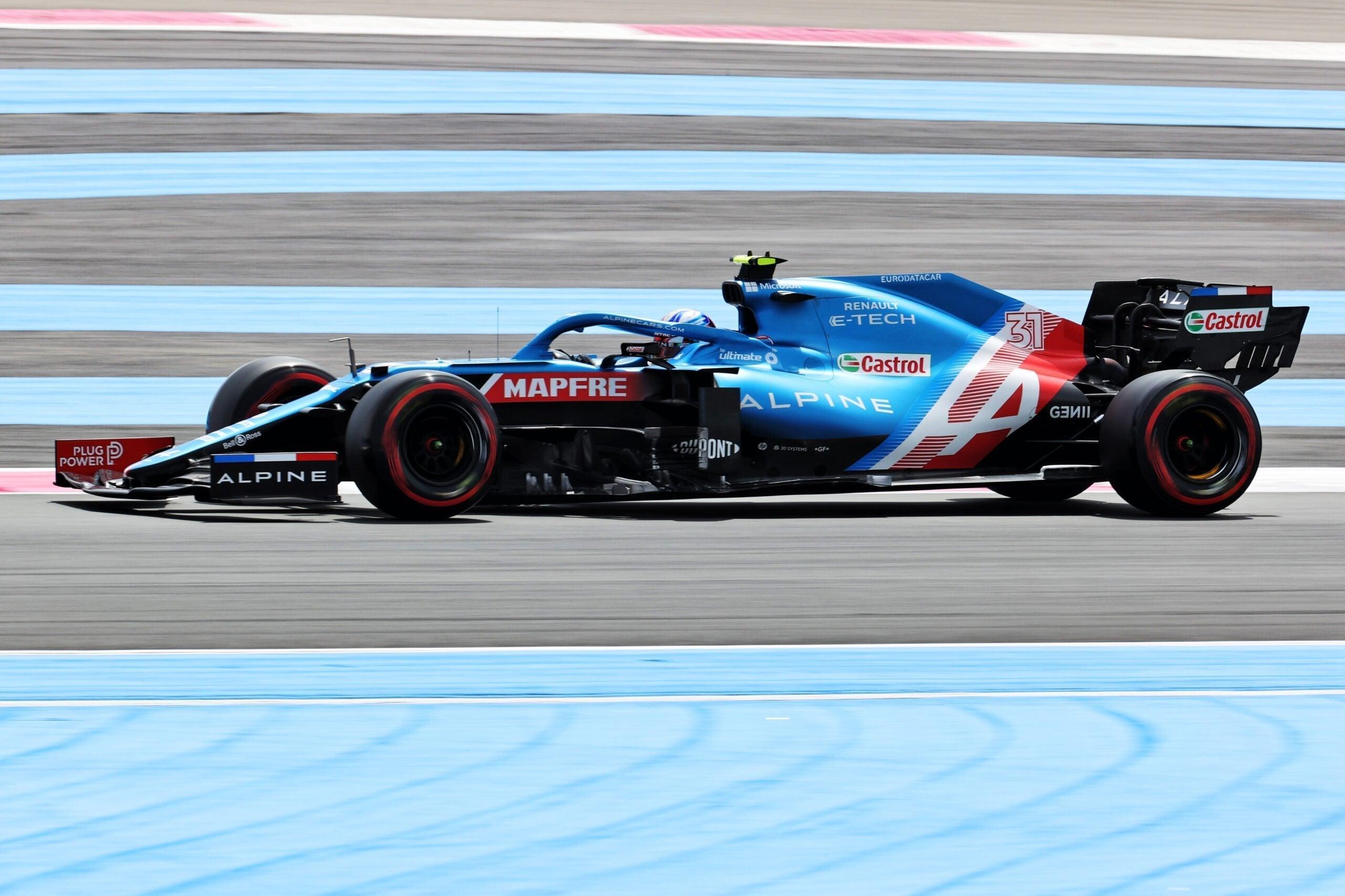 Alpine F1 Alonso Ocon A521 Castellet Paul Ricard 2021 11 scaled | Alpine F1 : des essais convaincants au Grand Prix Emirates de France
