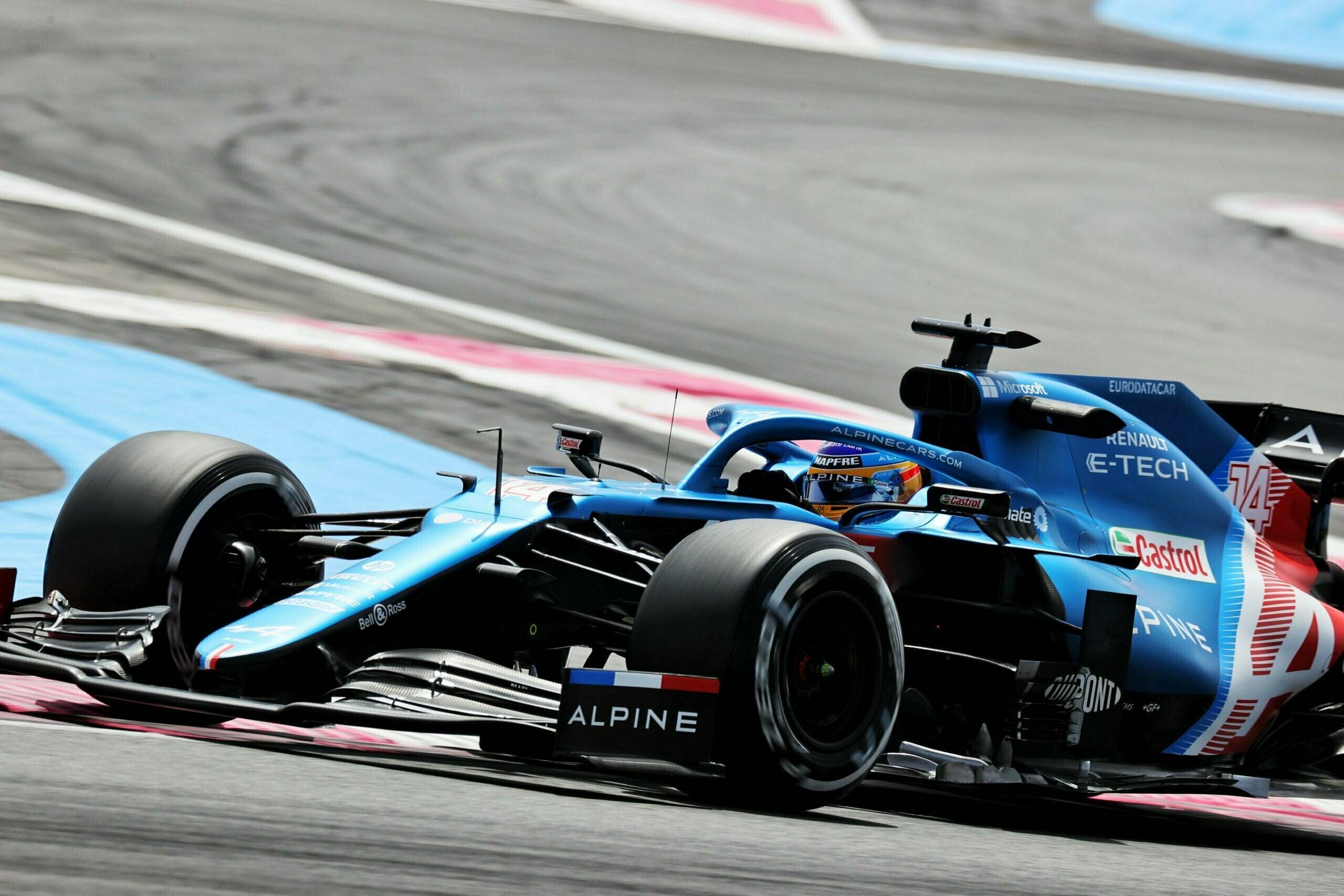 Alpine F1 Alonso Ocon A521 Castellet Paul Ricard 2021 12 scaled | Alpine F1 : des essais convaincants au Grand Prix Emirates de France