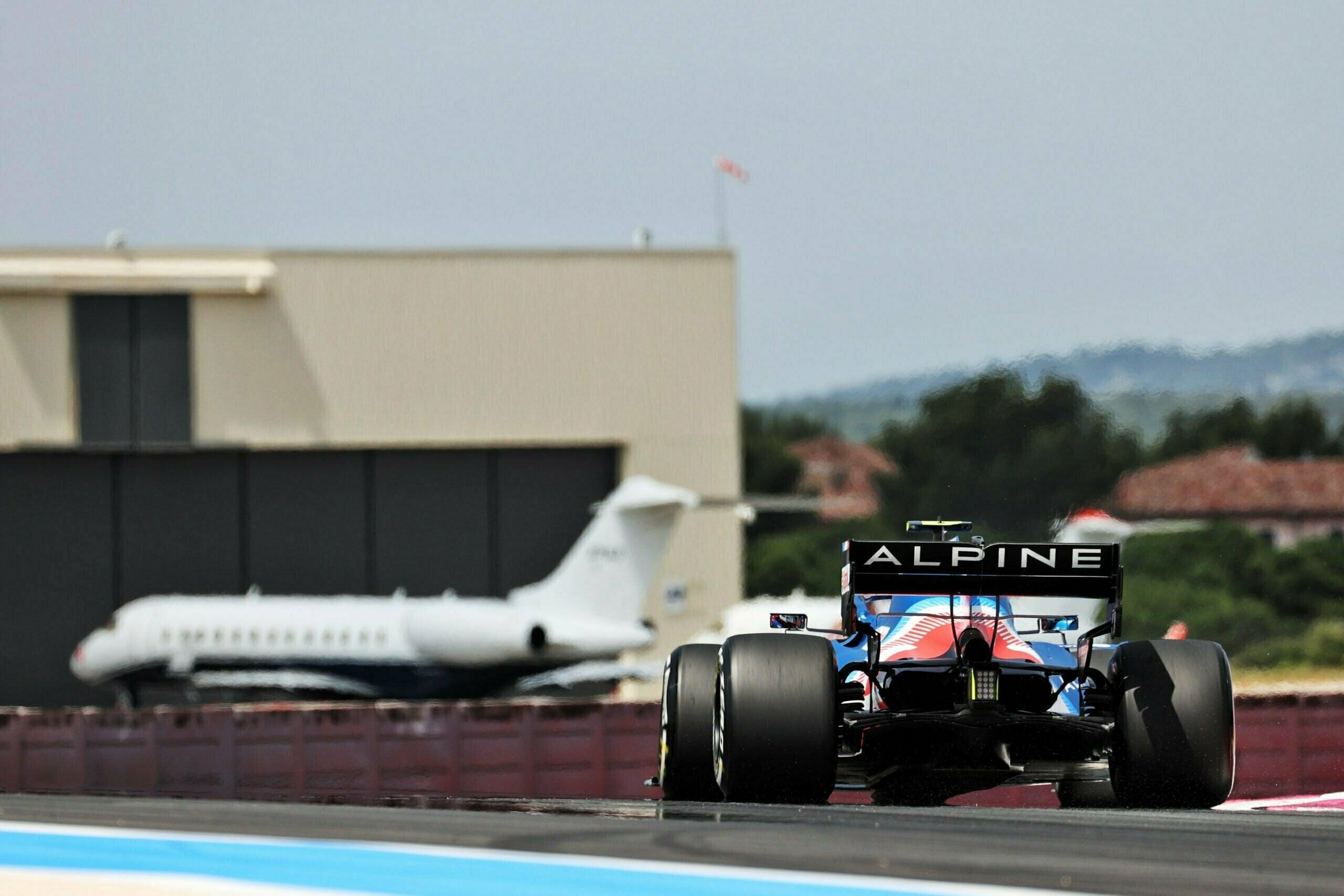 Alpine F1 Alonso Ocon A521 Castellet Paul Ricard 2021