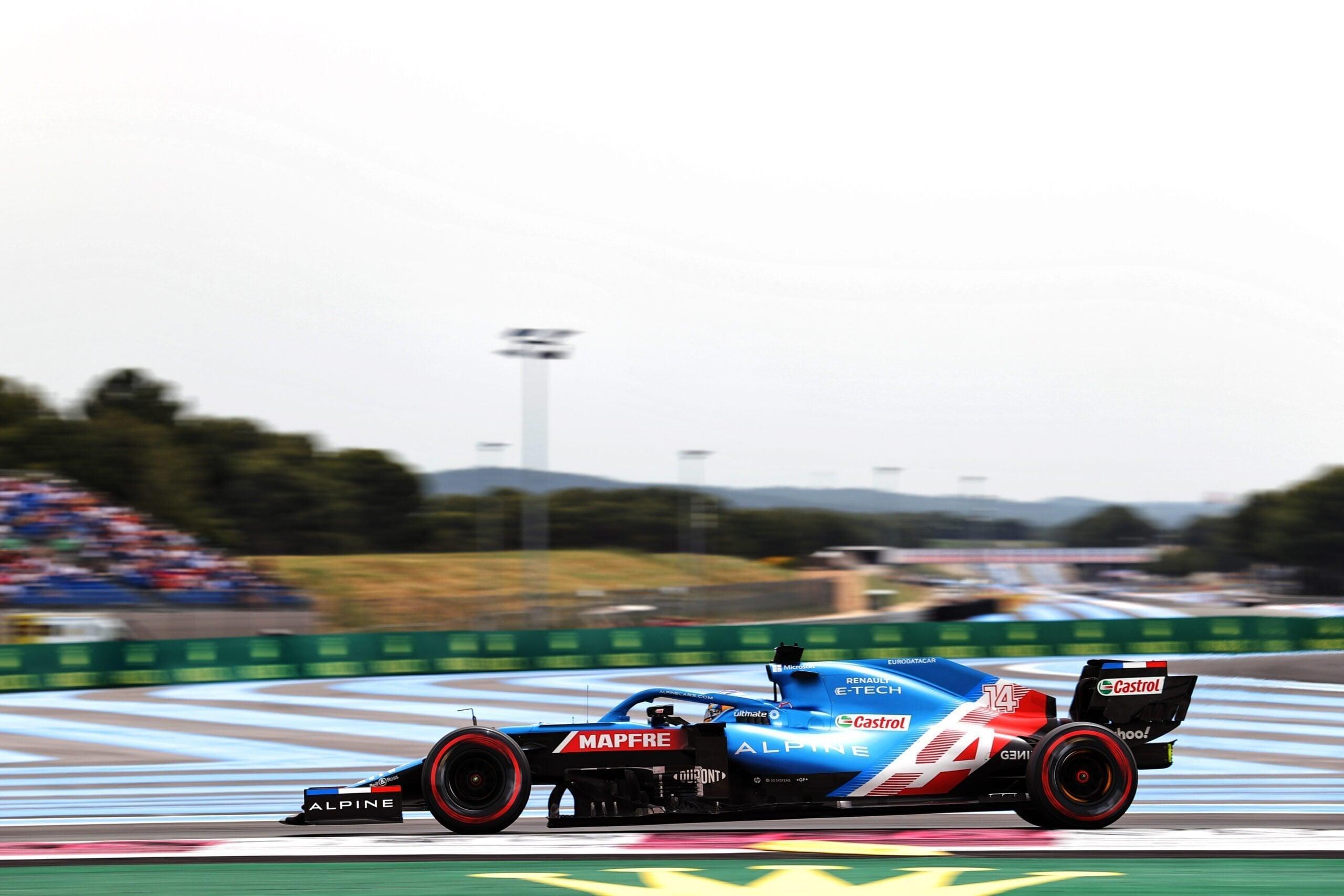 Alpine F1 Alonso Ocon A521 Castellet Paul Ricard 2021 4 scaled | Alpine F1 : des essais convaincants au Grand Prix Emirates de France