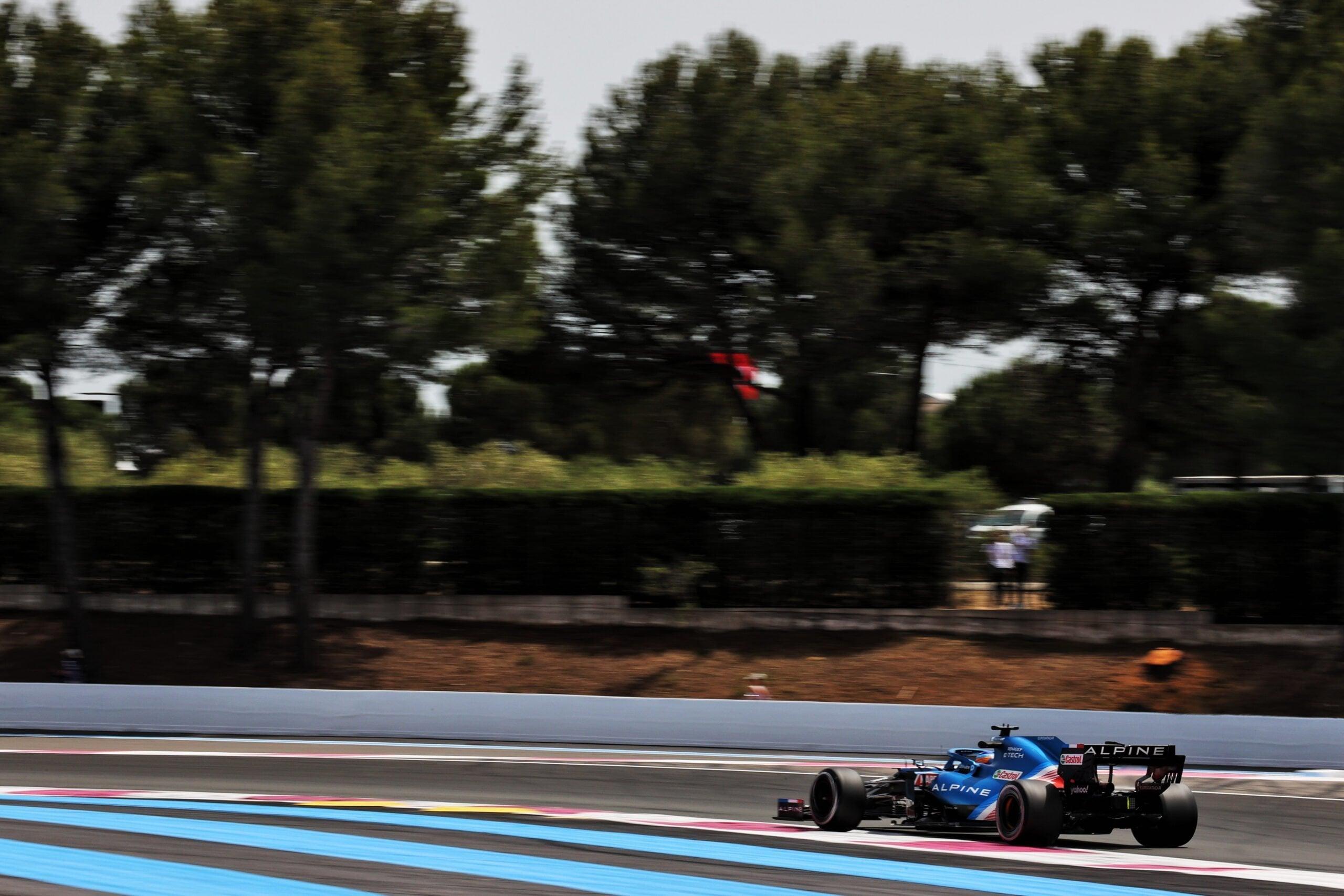 Alpine F1 Alonso Ocon A521 Castellet Paul Ricard 2021 9 scaled | Alpine F1 : des essais convaincants au Grand Prix Emirates de France