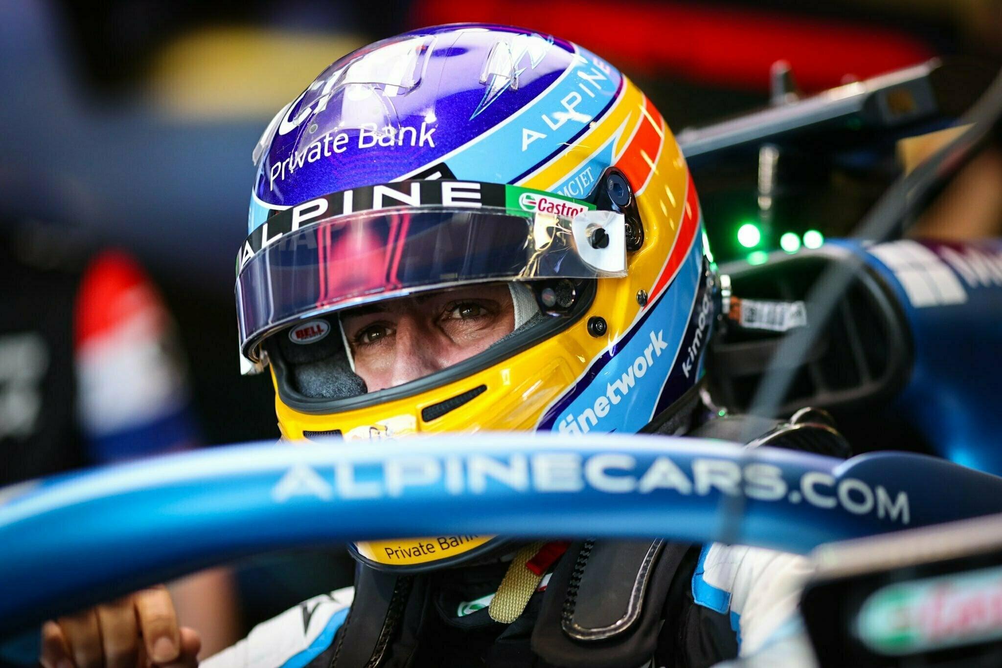 Alpine F1 Azebaijan Grand Prix Baku Alonso Ocon 2021 17   Alonso offre huit précieux points à Alpine F1 Team sur l'épreuve de Bakou