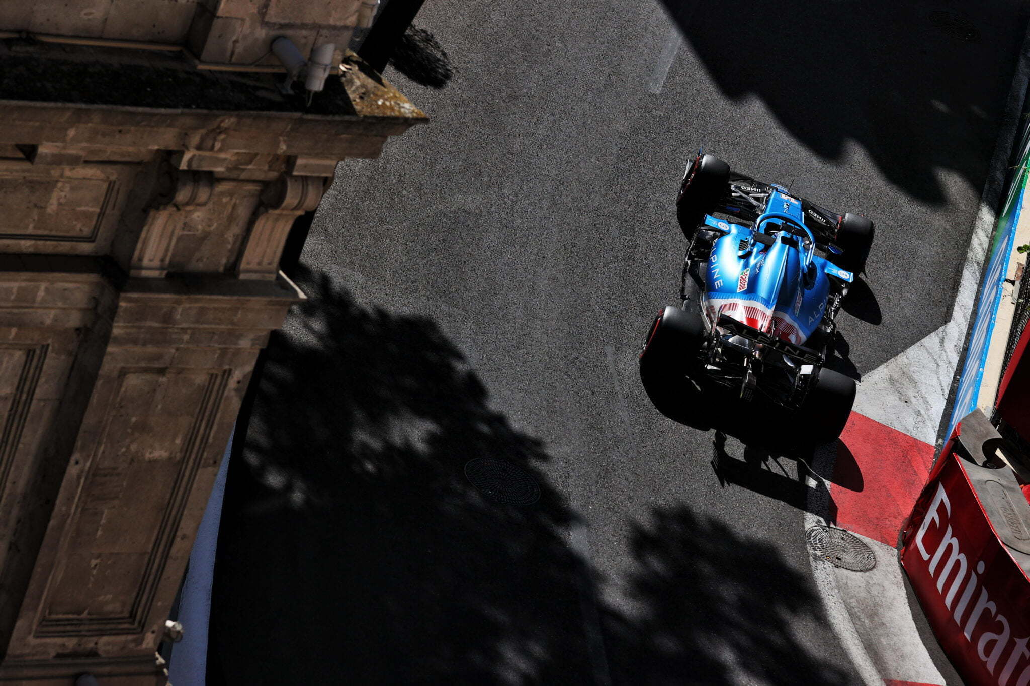 Alpine F1 Azebaijan Grand Prix Baku Alonso Ocon 2021 31   Alonso offre huit précieux points à Alpine F1 Team sur l'épreuve de Bakou