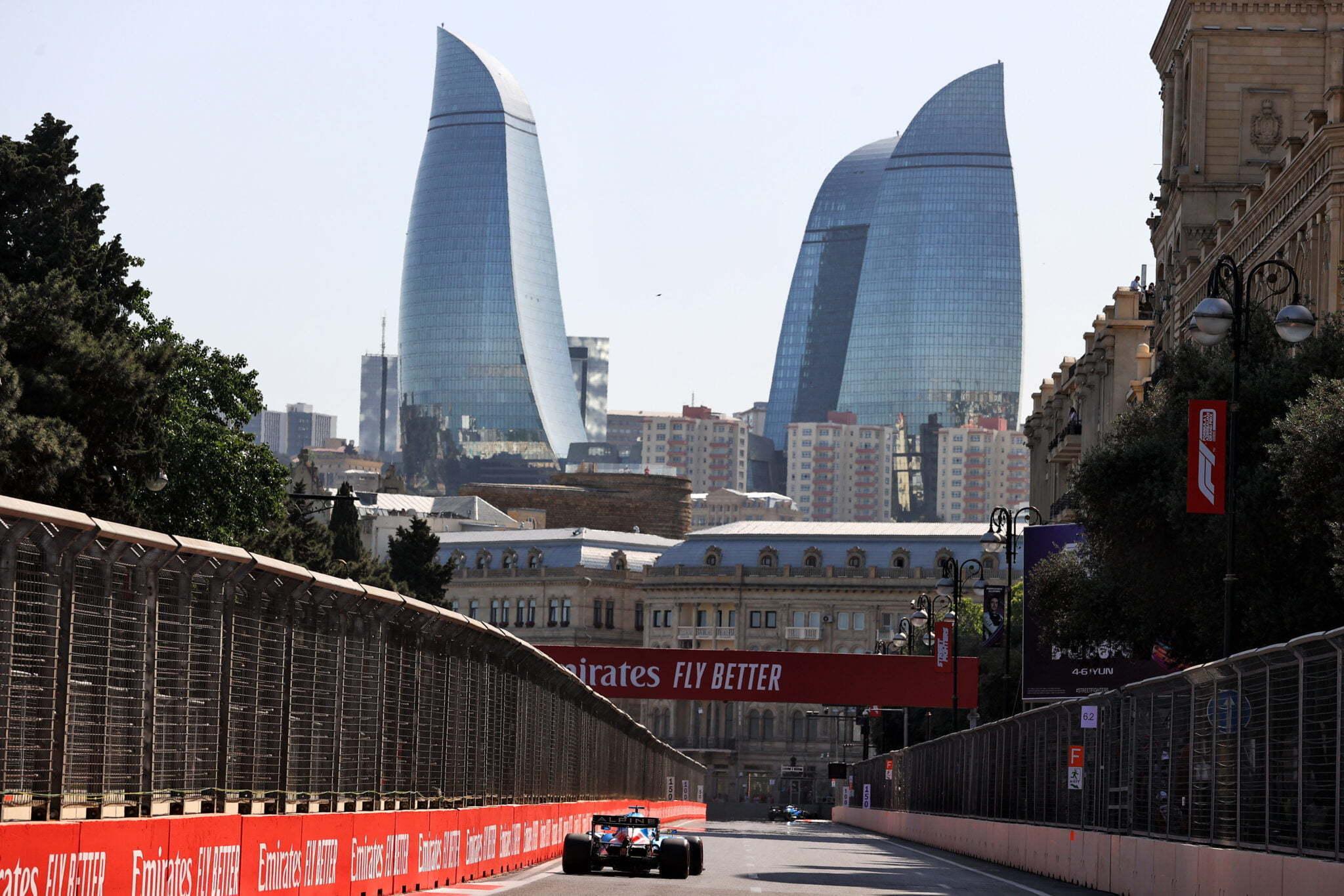 Alpine F1 Azebaijan Grand Prix Baku Alonso Ocon 2021 34   Alonso offre huit précieux points à Alpine F1 Team sur l'épreuve de Bakou