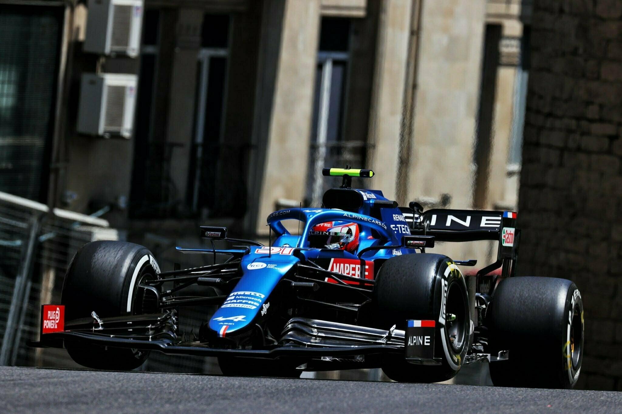 Alpine F1 Azerbaijan Grand Prix Baku Alonso Ocon 202