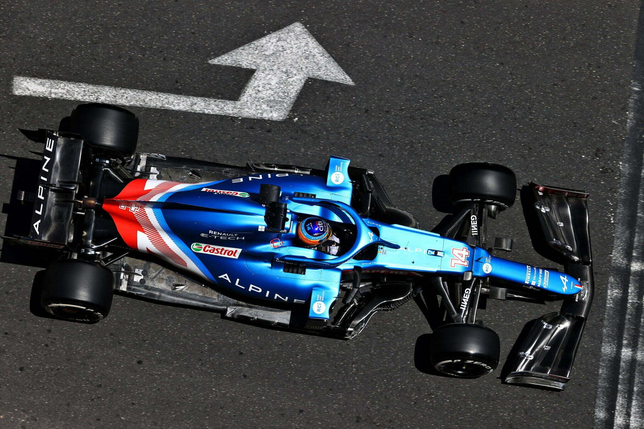 Alpine F1 Azebaijan Grand Prix Baku Alonso Ocon 2021 42   Alonso offre huit précieux points à Alpine F1 Team sur l'épreuve de Bakou