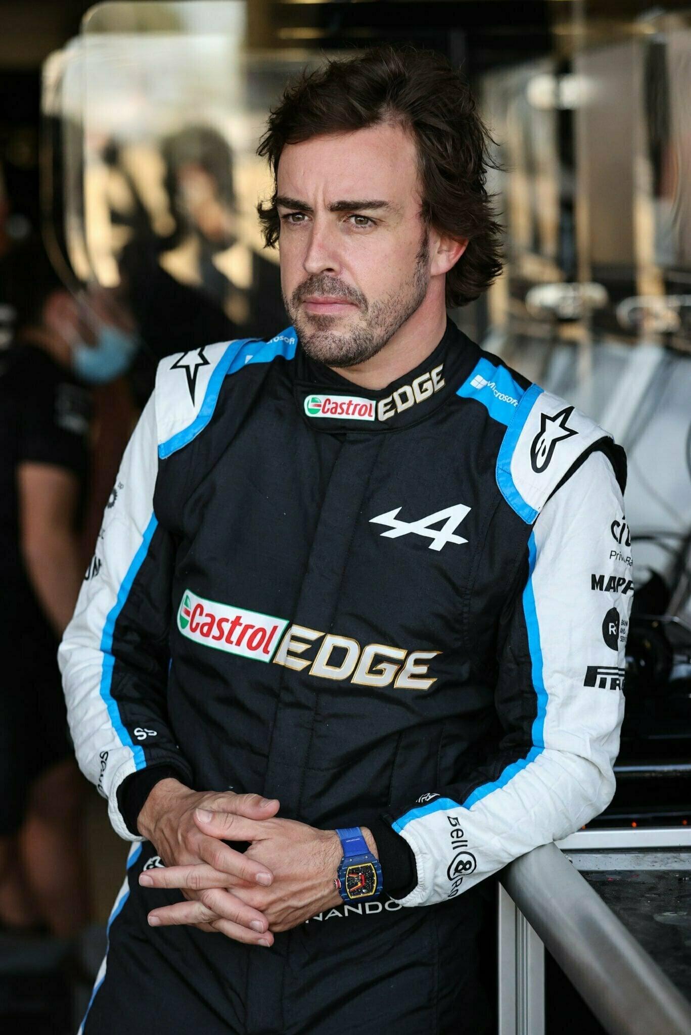 Alpine F1 Azebaijan Grand Prix Baku Alonso Ocon 2021 50   Alonso offre huit précieux points à Alpine F1 Team sur l'épreuve de Bakou