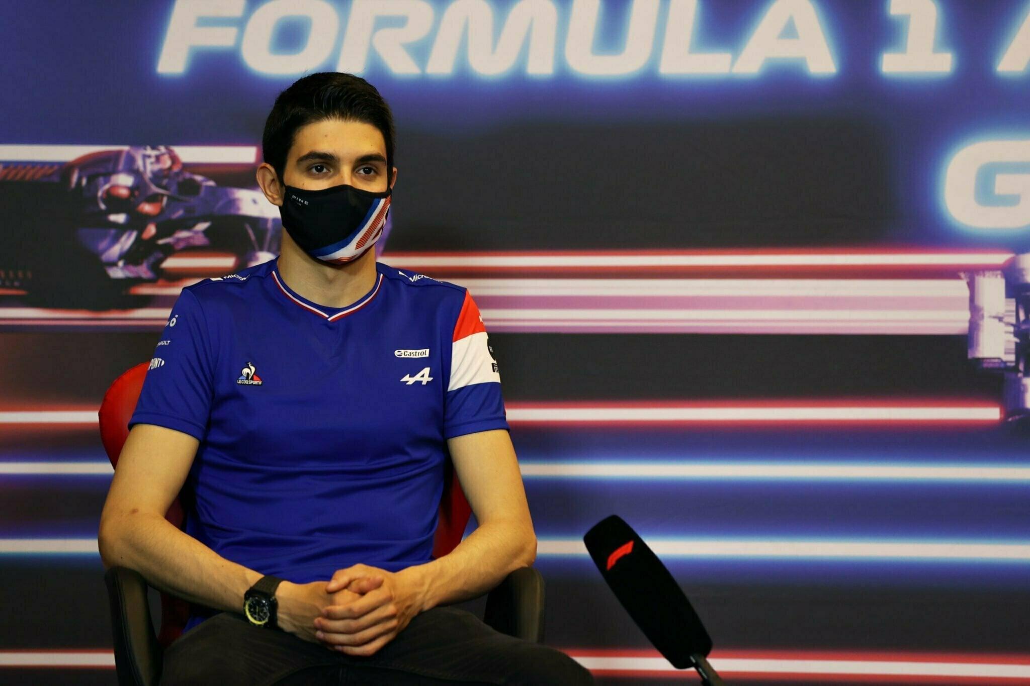 Alpine F1 Azebaijan Grand Prix Baku Alonso Ocon 2021 56   Alonso offre huit précieux points à Alpine F1 Team sur l'épreuve de Bakou