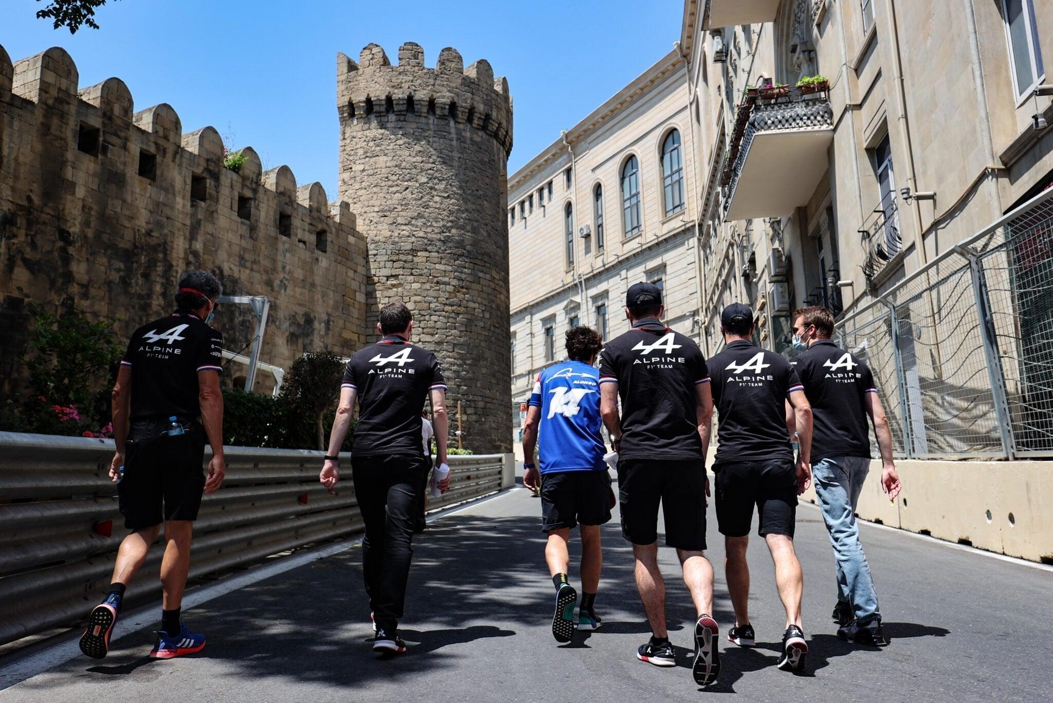 Alpine F1 Azebaijan Grand Prix Baku Alonso Ocon 2021 60 | Alpine F1 entre en Q3 au Grand Prix d'Azerbaïdjan / Baku 2021