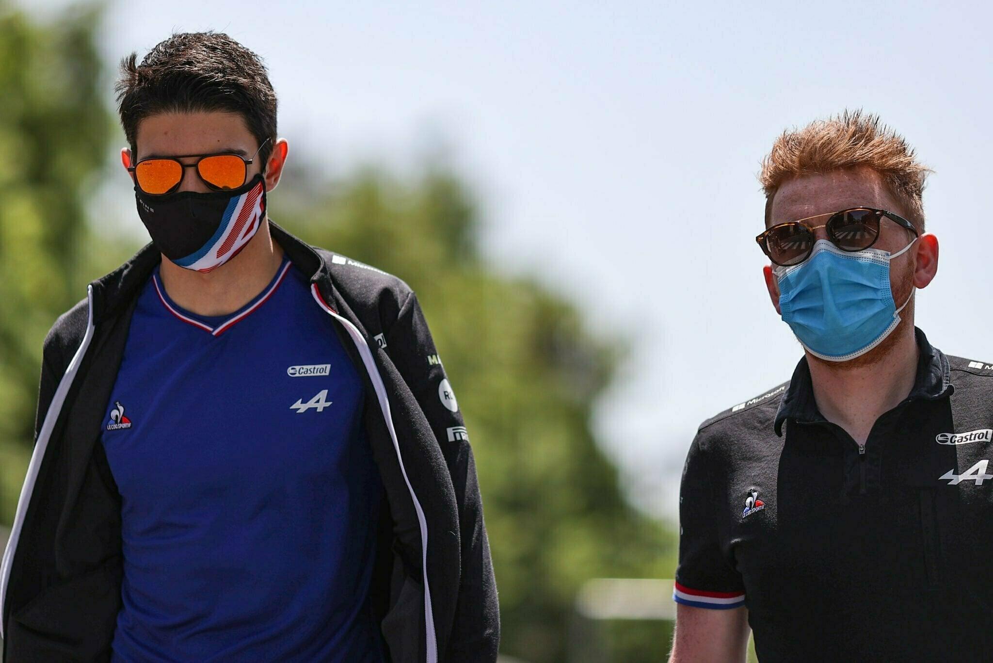 Alpine F1 Azerbaijan Grand Prix Baku Alonso Ocon 2021