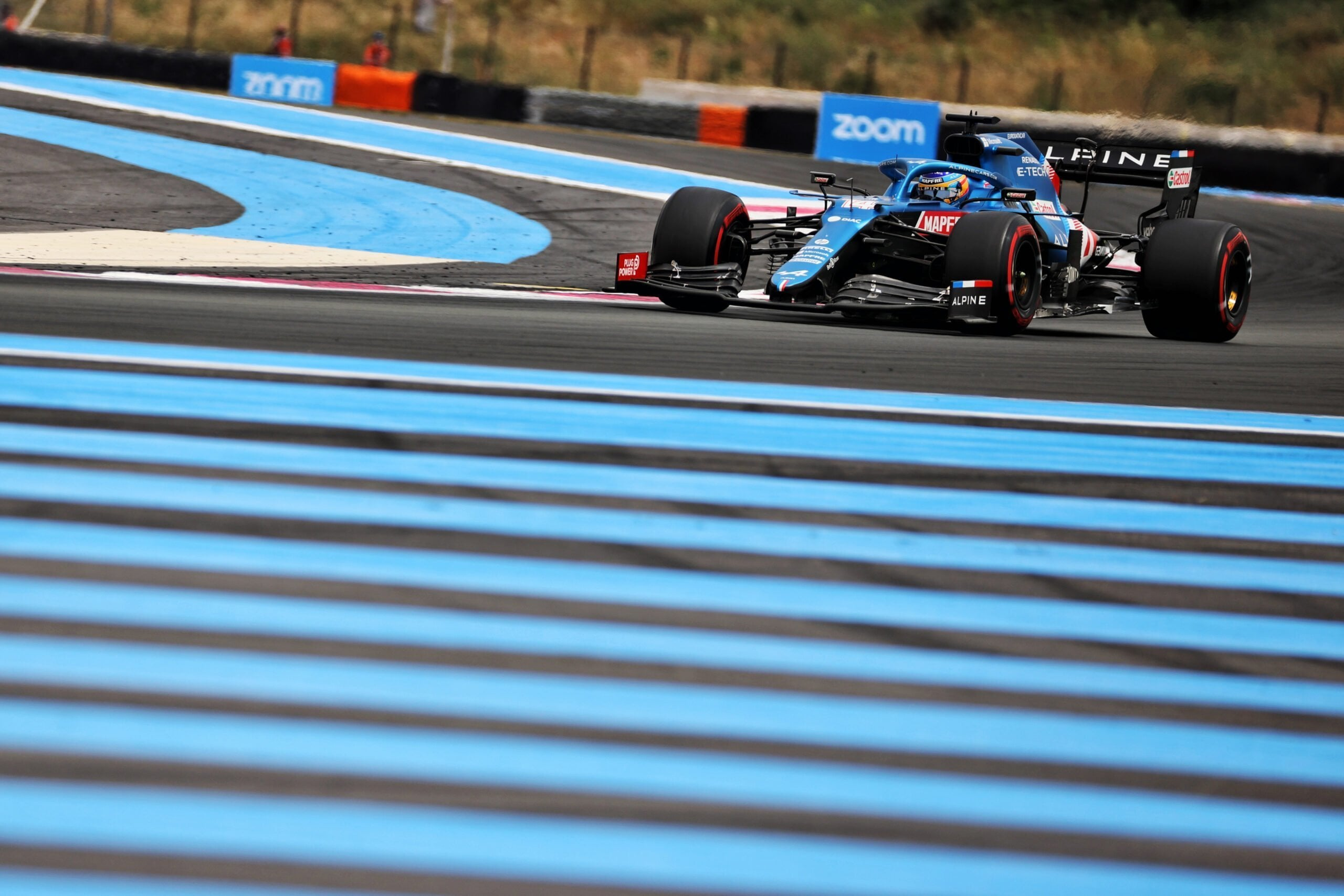 Alpine F1 Team A521 Alonso Ocon Castellet GP FRance 2021 6 scaled   Alpine F1 : Alonso entre en Q3, Ocon bloque en Q2 au Grand-Prix de France