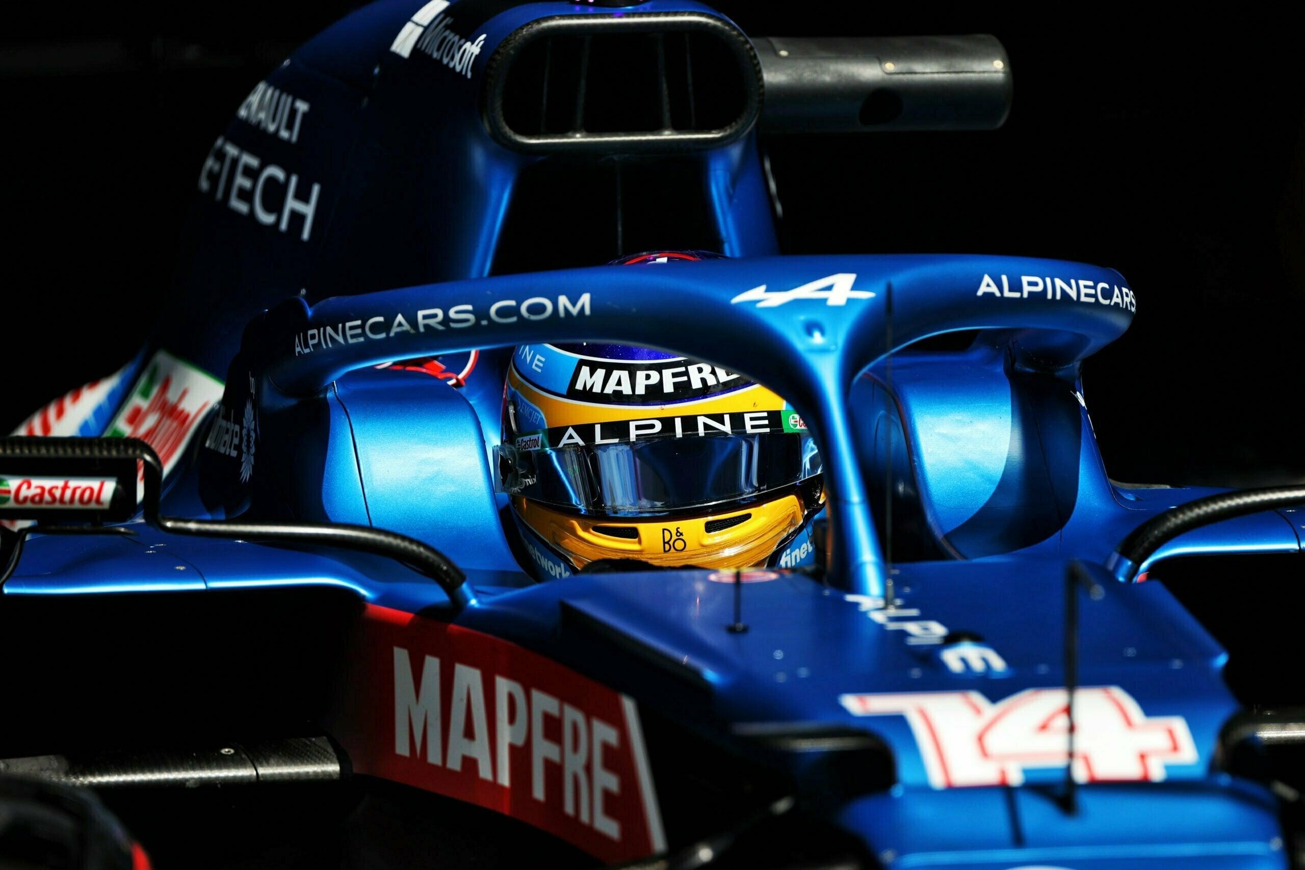 Alpine F1 Team Alonso Ocon Autriche Steiermark Grand Prix Spielberg A521 2021 24 scaled   Alpine F1 : Alonso réitère la Q3 et Ocon trébuche en Q1 à Spielberg