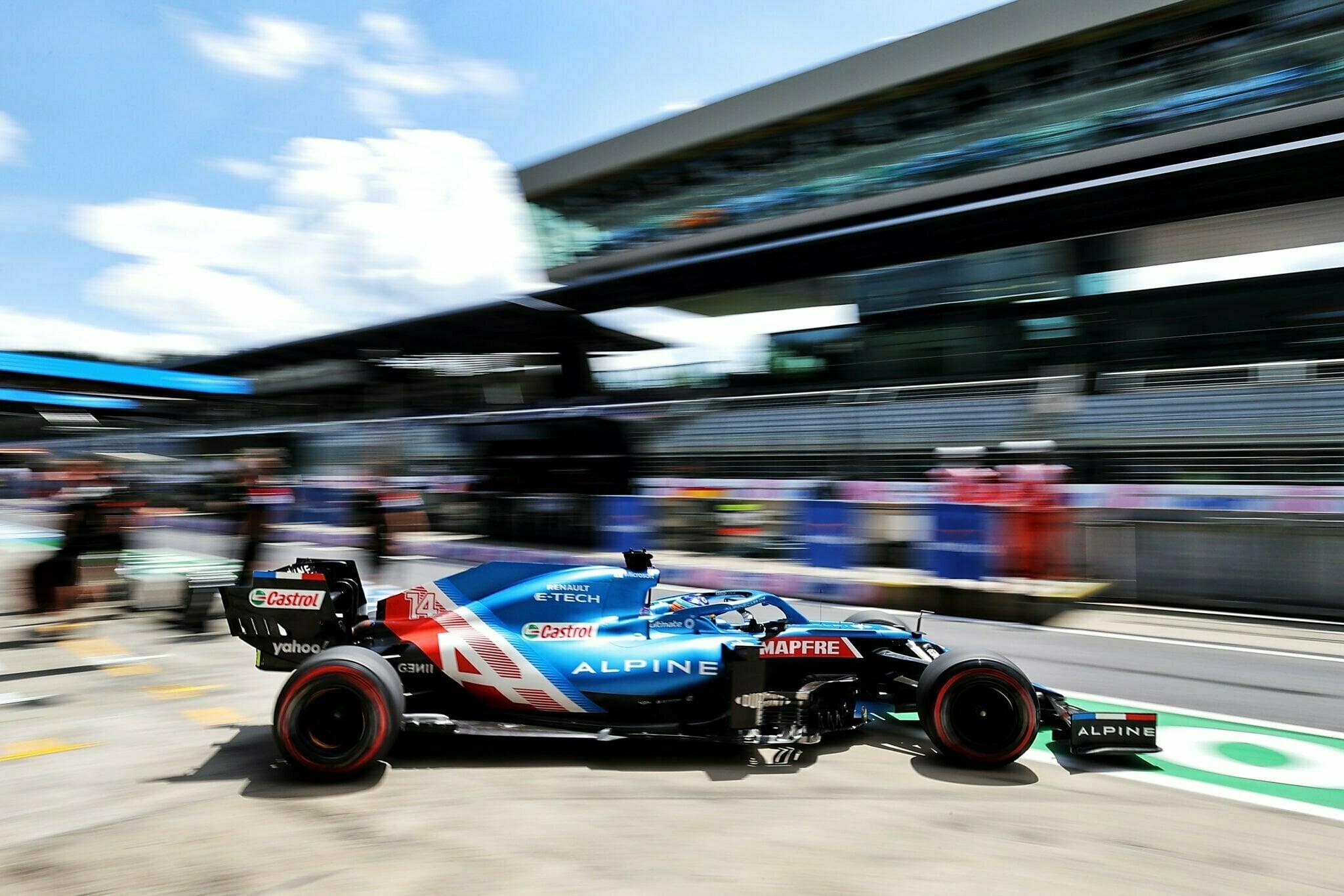 Alpine F1 Team Alonso Ocon Autriche Steiermark Grand Prix Spielberg A521 2021 25 | Alpine F1 : Alonso rapporte deux points au Grand Prix BWT de Styrie