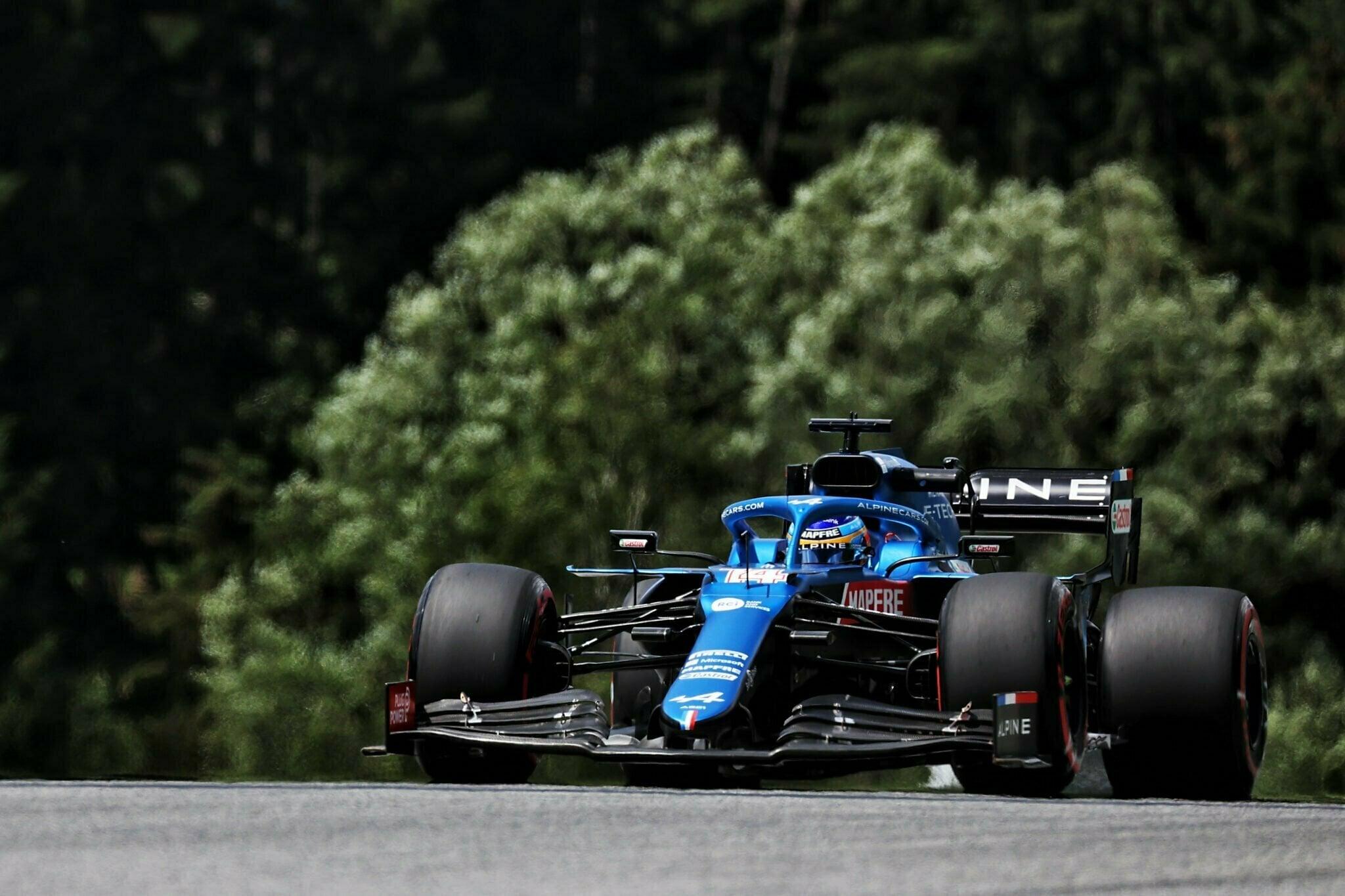 Alpine F1 Team Alonso Ocon Autriche Steiermark Grand Prix Spielberg A521 2021 30 | Alpine F1 : Alonso rapporte deux points au Grand Prix BWT de Styrie