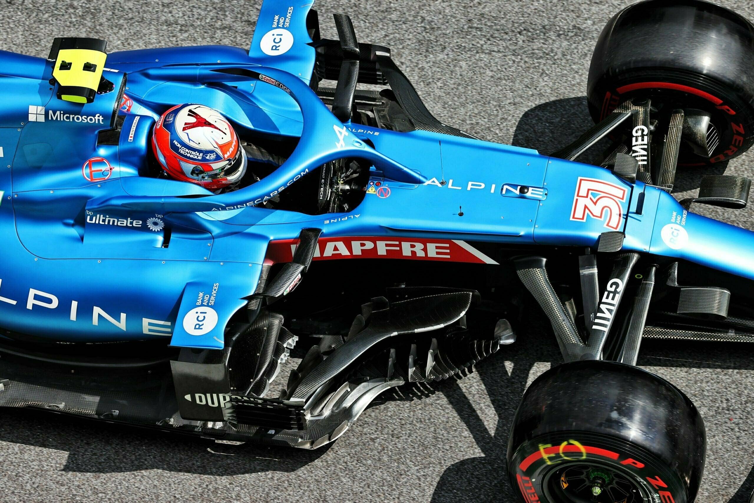 Alpine F1 Team Alonso Ocon Autriche Steiermark Grand Prix Spielberg A521 2021 34 scaled   Alpine F1 : Alonso réitère la Q3 et Ocon trébuche en Q1 à Spielberg