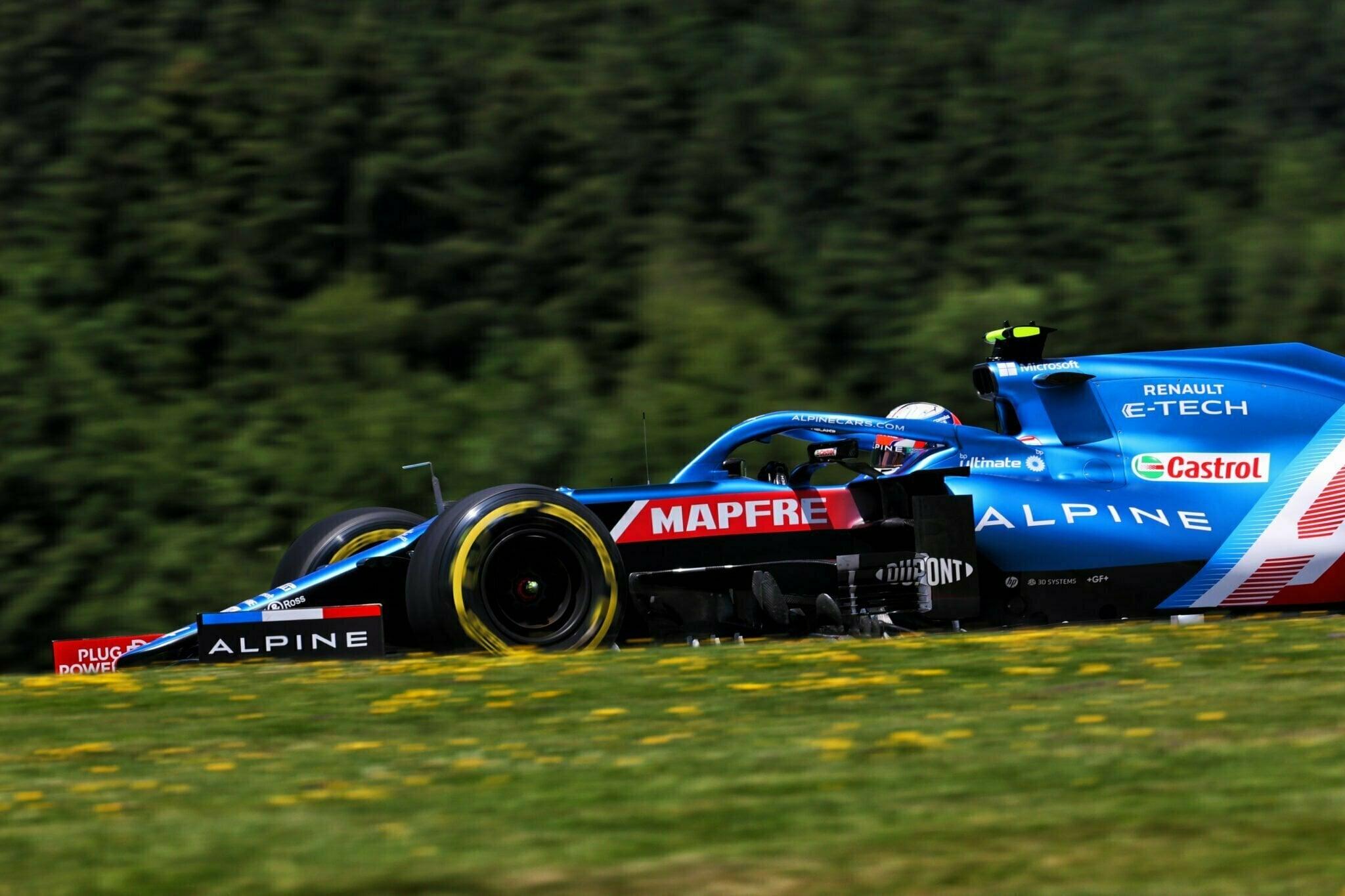 Alpine F1 Team Alonso Ocon Autriche Steiermark Grand Prix Spielberg A521 2021 41 | Alpine F1 : Alonso rapporte deux points au Grand Prix BWT de Styrie