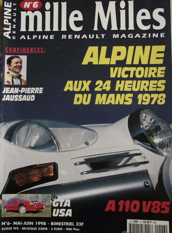 792F57BC 9017 48C9 9EAD 9720A5ACD8B7   Jean Pierre Jaussaud Vainqueur Des 24Heures du Mans avec Alpine nous a quitté.