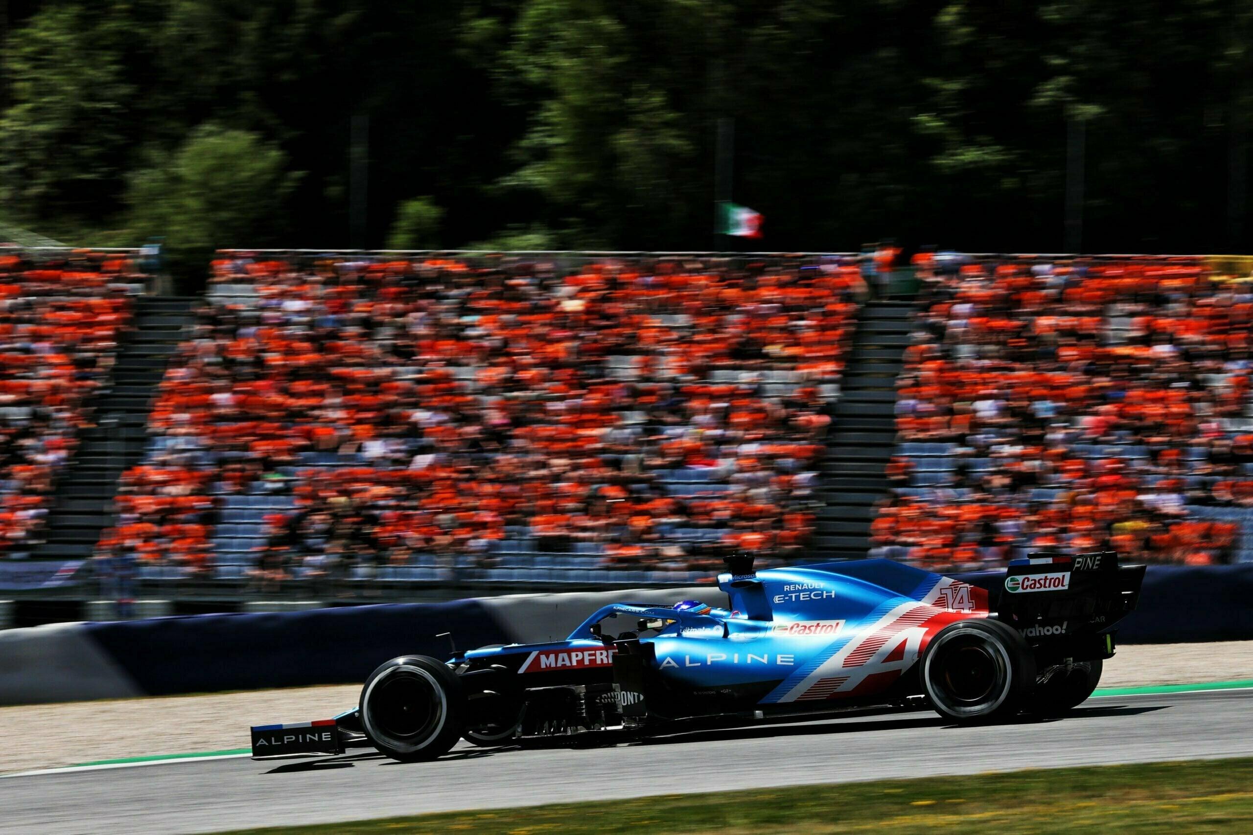 Alpine F1 Alonso Ocon A521 GP Autriche Spielberg 2021