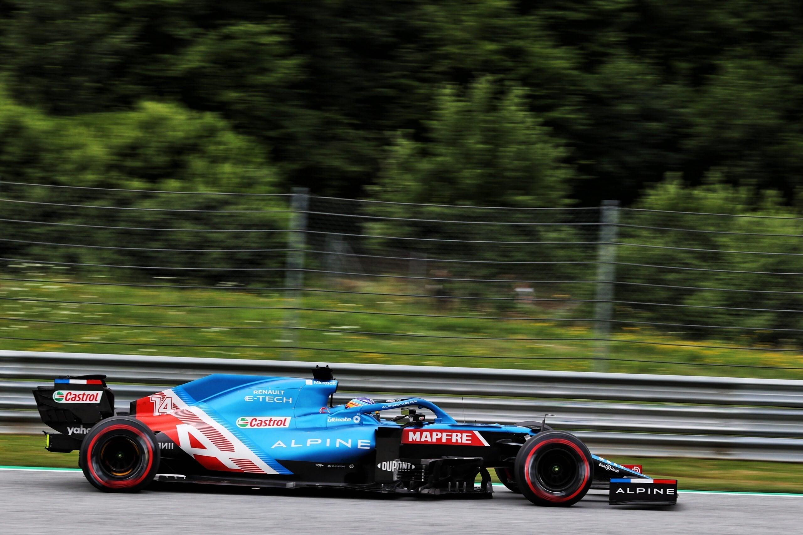 Alpine F1 Alonso Ocon A521 GP Autriche Spielberg 2021 15 scaled | Alpine F1 : Alonso rapporte un point au Grand-Prix d'Autriche