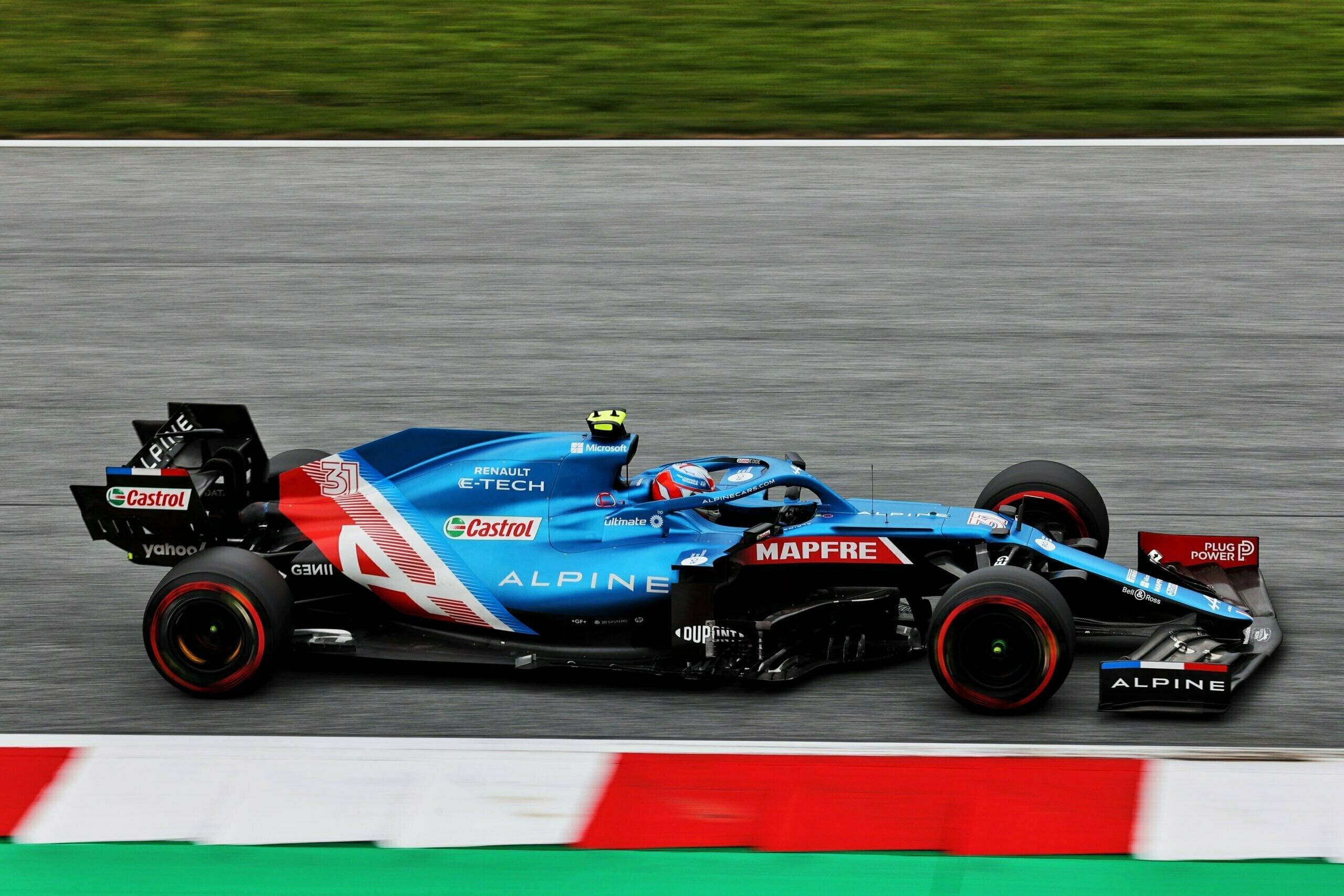 Alpine F1 Alonso Ocon A521 GP Autriche Spielberg 2021 16 scaled | Alpine F1 : Alonso rapporte un point au Grand-Prix d'Autriche