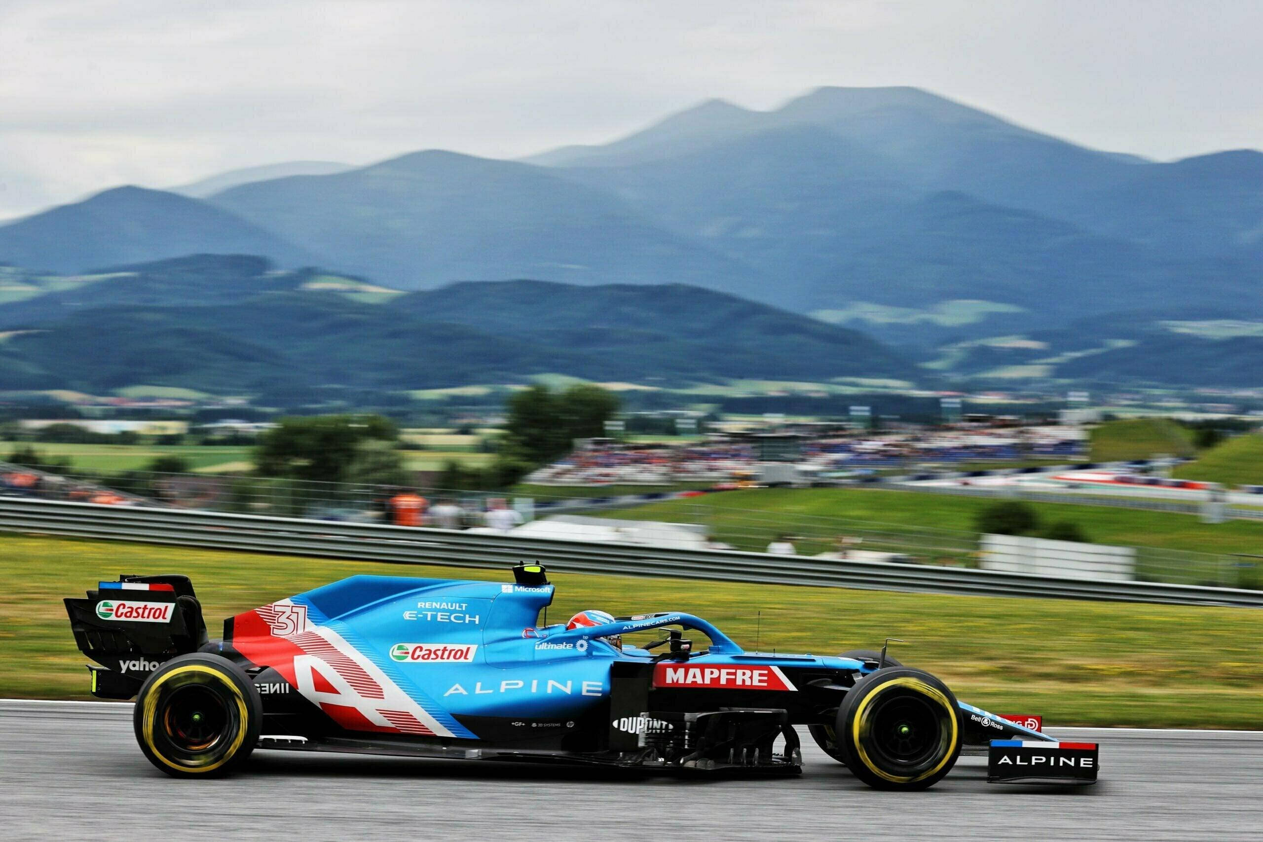 Alpine F1 Alonso Ocon A521 GP Autriche Spielberg 2021 18 scaled | Alpine F1 : Alonso rapporte un point au Grand-Prix d'Autriche