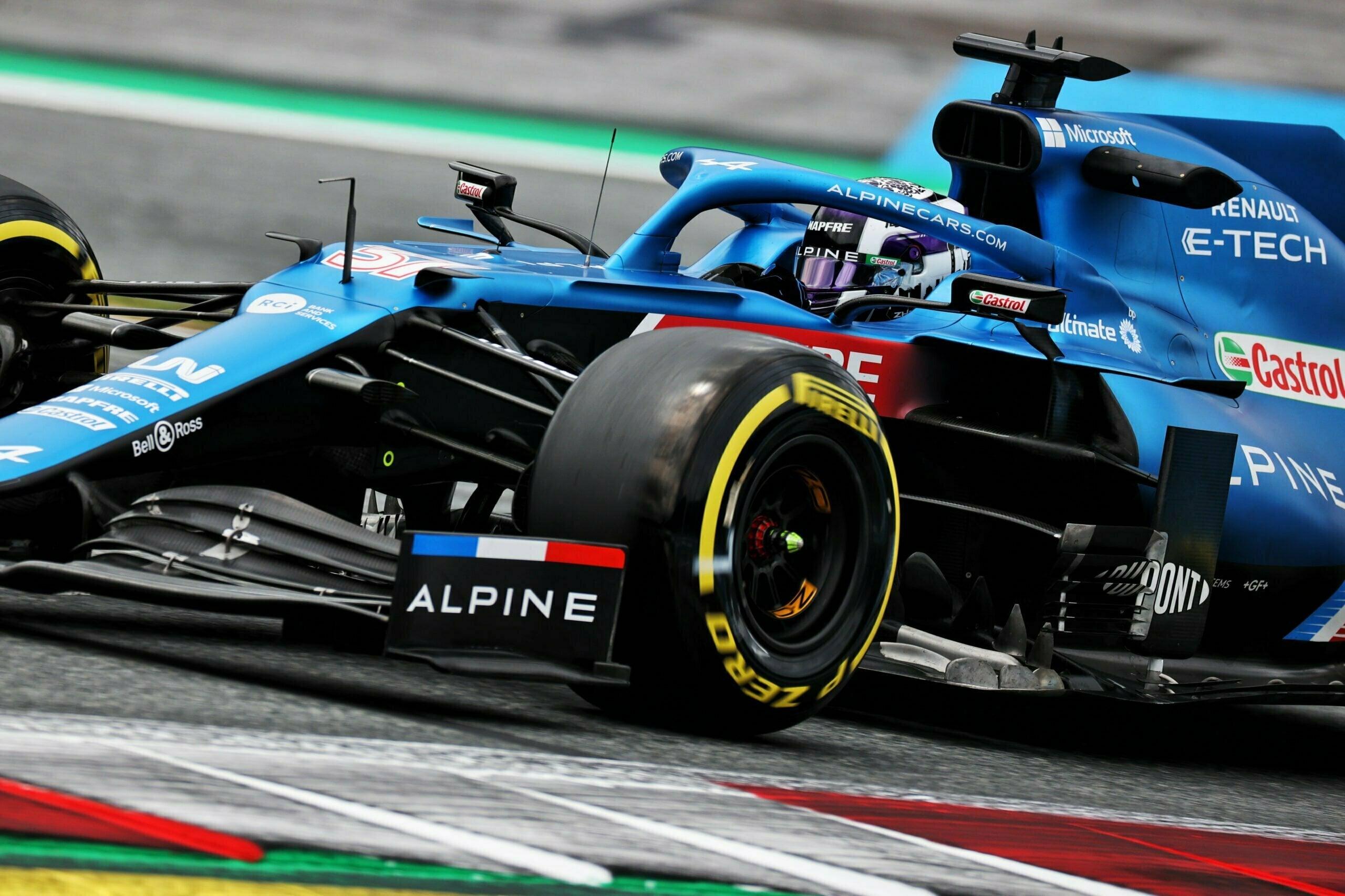 Alpine F1 Alonso Ocon A521 GP Autriche Spielberg 2021 19 scaled | Alpine F1 : Alonso rapporte un point au Grand-Prix d'Autriche