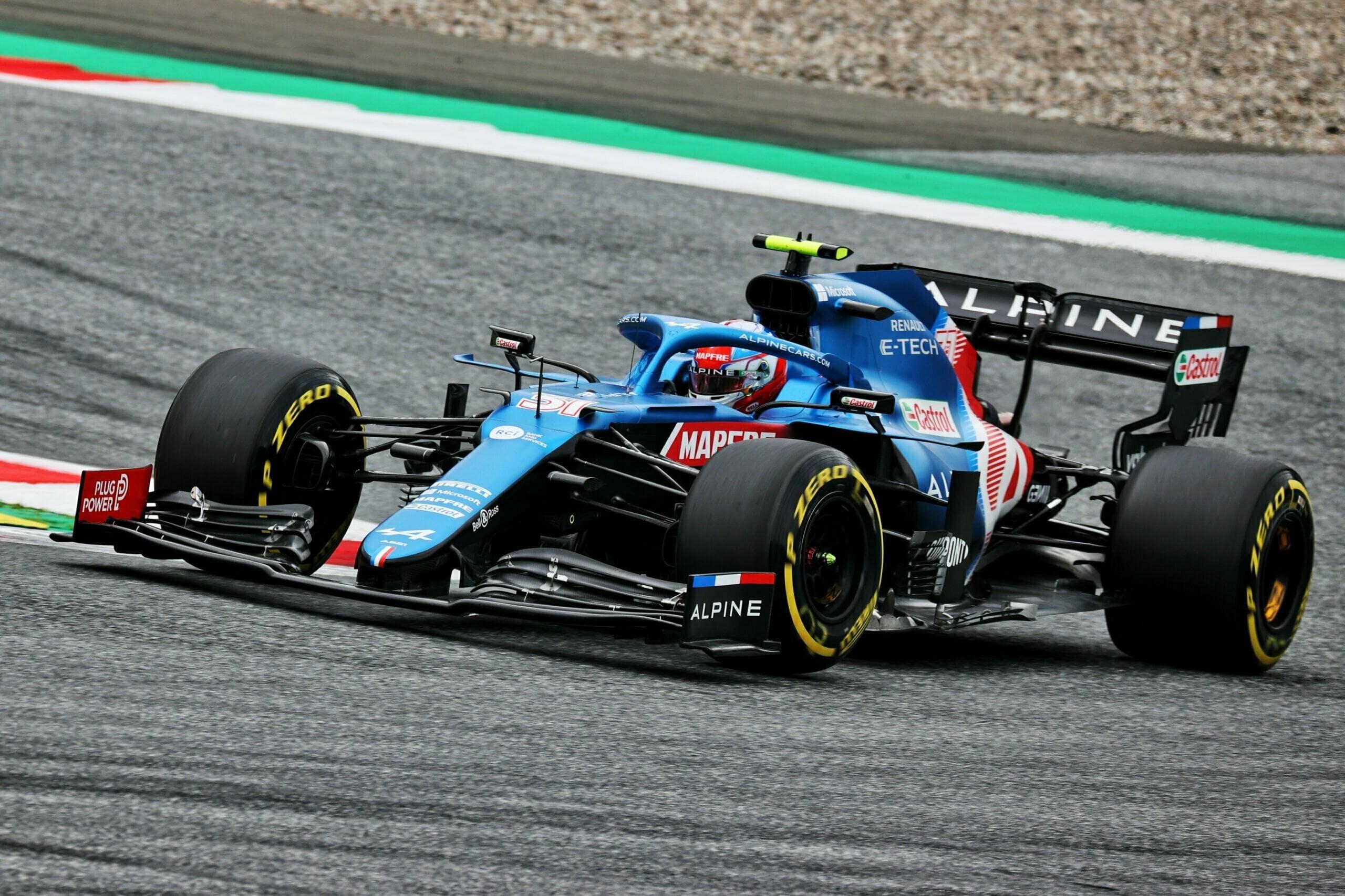 Alpine F1 Alonso Ocon A521 GP Autriche Spielberg 2021 20 scaled | Alpine F1 : Alonso rapporte un point au Grand-Prix d'Autriche