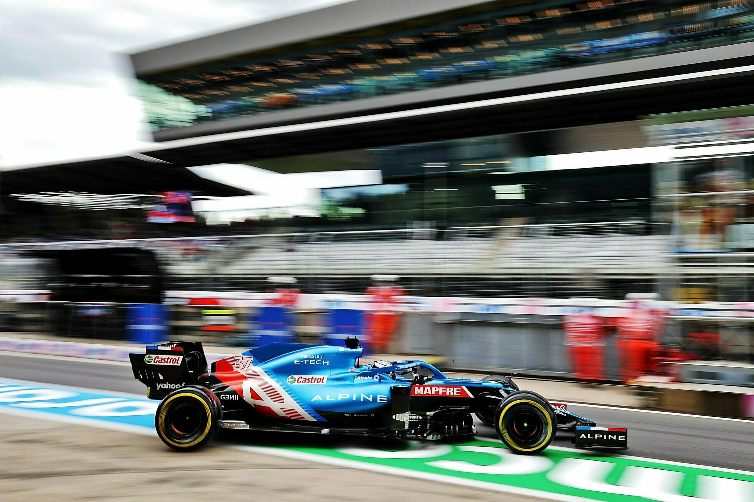 Alpine F1 Alonso Ocon A521 GP Autriche Spielberg 2021 24 scaled | Alpine F1 assure une séance d'essais studieuse au Grand-Prix d'Autriche