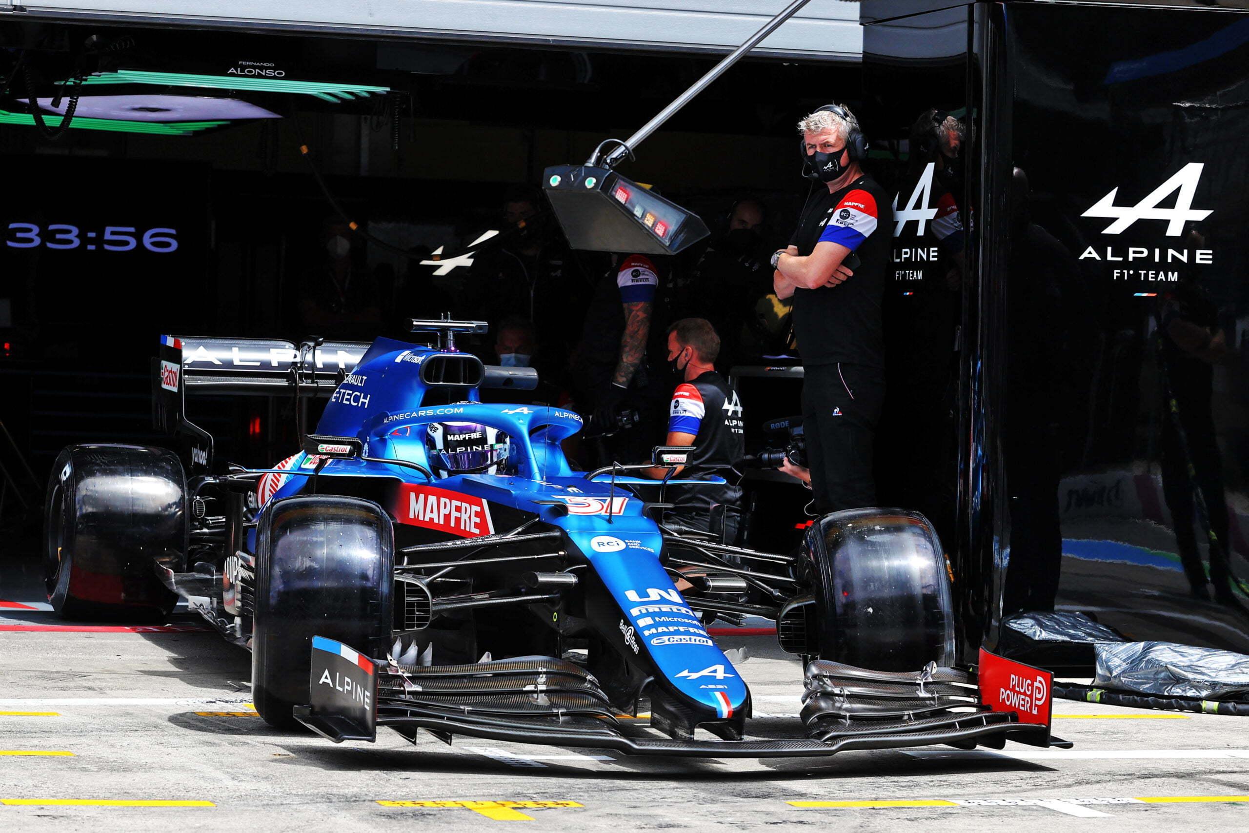 Alpine F1 Alonso Ocon A521 GP Autriche Spielberg 2021 26 scaled | Alpine F1 : Alonso rapporte un point au Grand-Prix d'Autriche