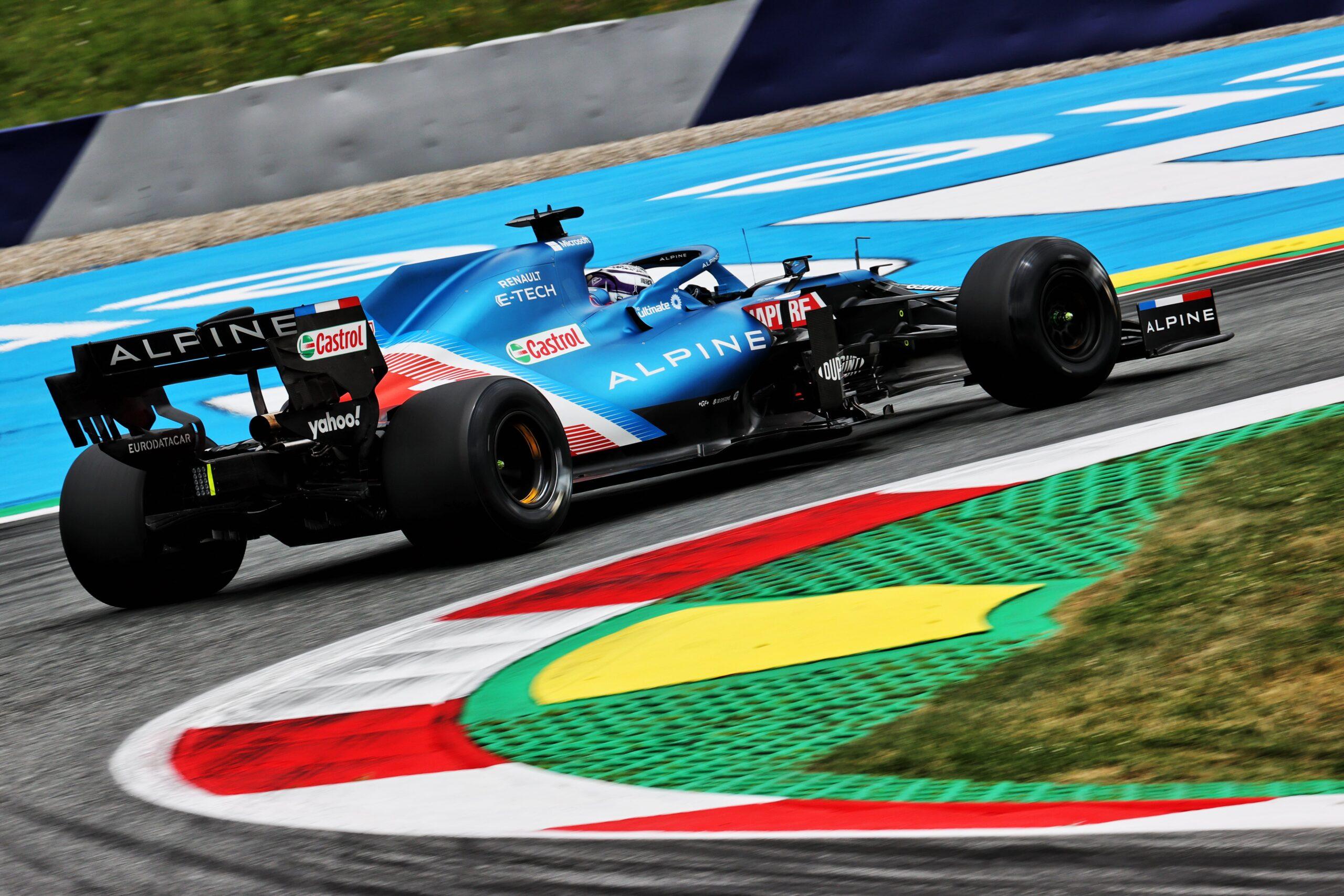 Alpine F1 Alonso Ocon A521 GP Autriche Spielberg 2021 27 scaled | Alpine F1 assure une séance d'essais studieuse au Grand-Prix d'Autriche