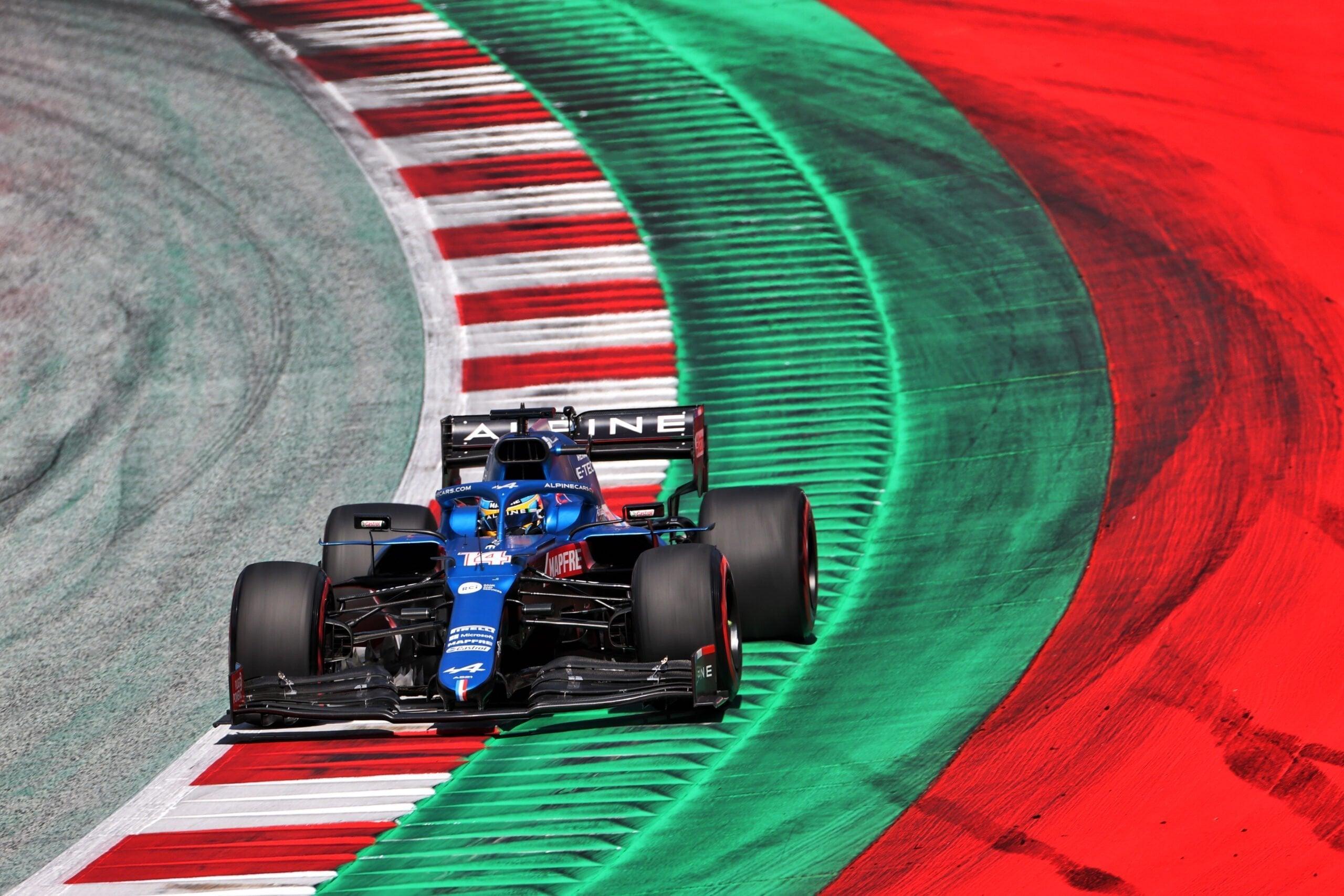Alpine F1 Alonso Ocon A521 GP Autriche Spielberg 2021 3 scaled | Alpine F1 privé de Q3 au Grand Prix BWT d'Autriche