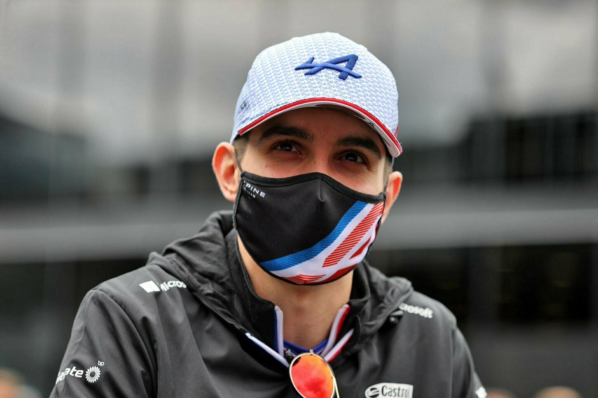 Alpine F1 Esteban Ocon