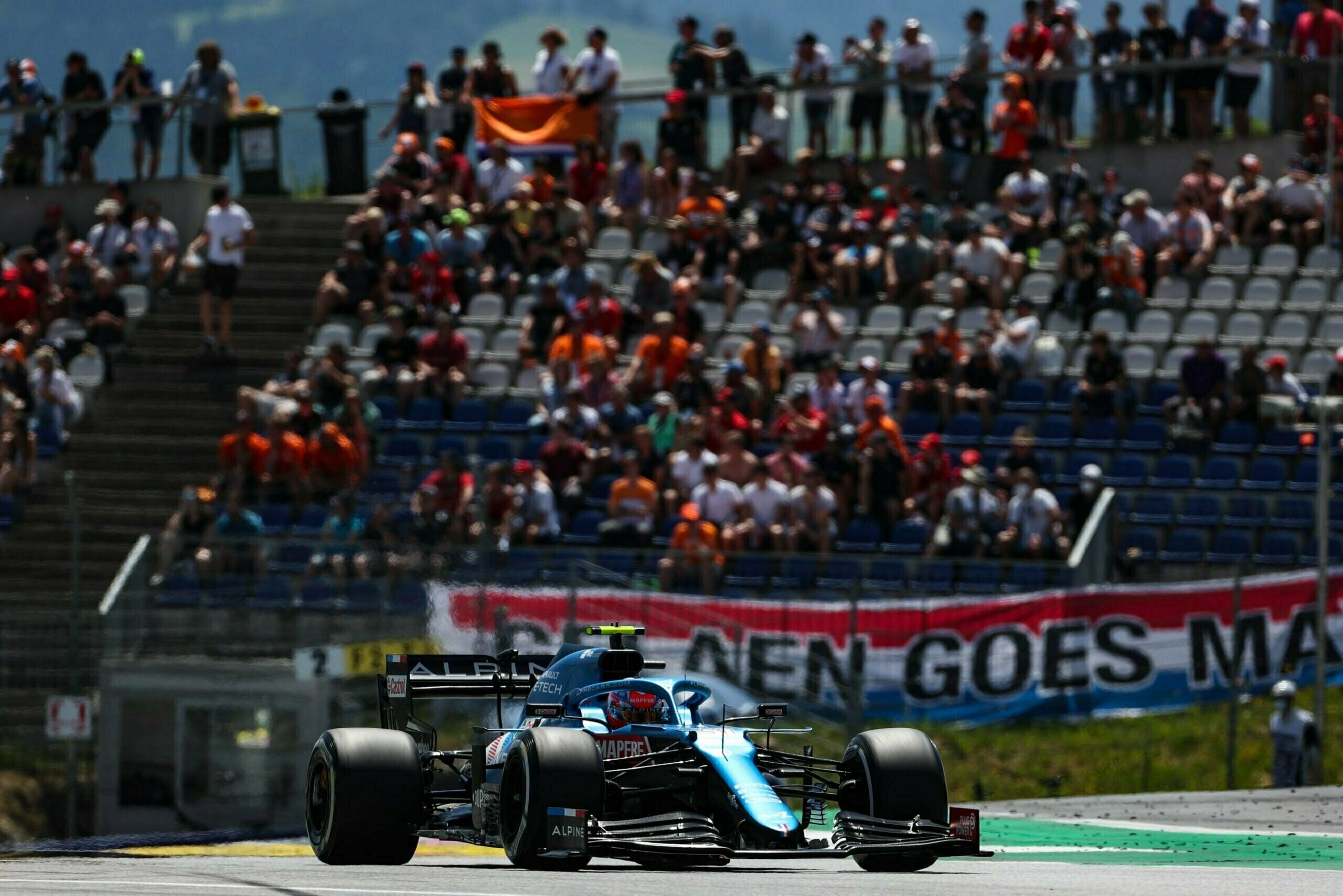Alpine F1 Alonso Ocon A521 GP Autriche Spielberg 2021 4 scaled | Alpine F1 privé de Q3 au Grand Prix BWT d'Autriche